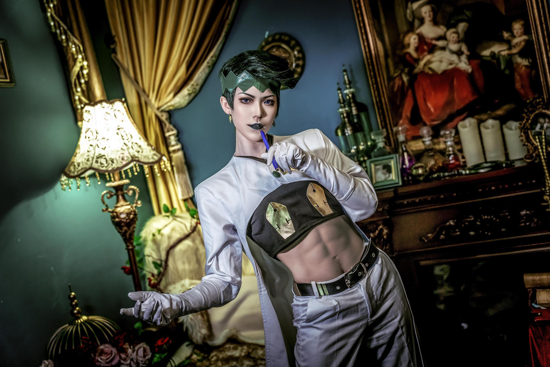 《JOJO的奇妙冒险》正片cosplay【CN:檀鸦しゅじん】 -何记cosplay男装图片插图