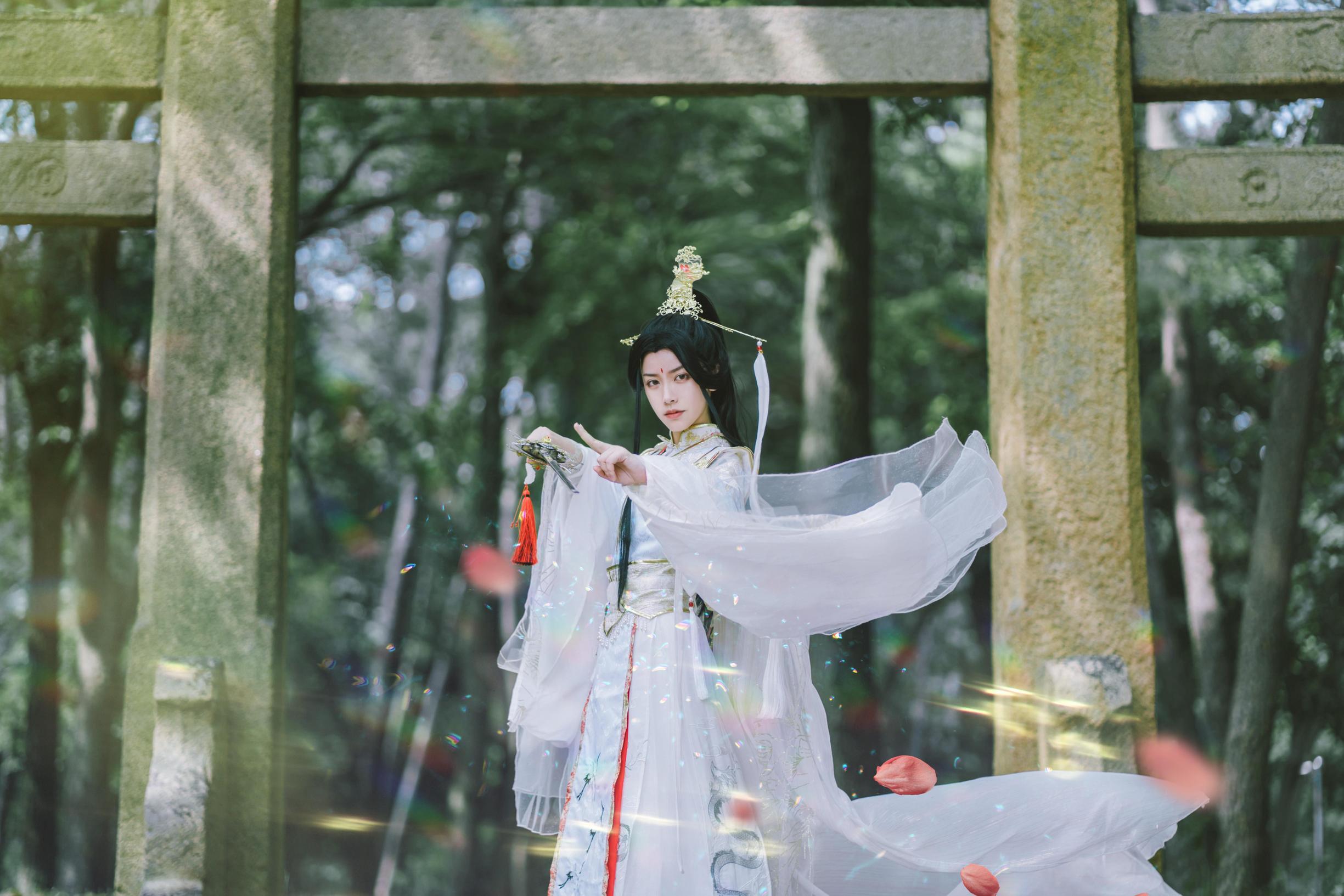 《天官赐福》太子悦神cosplay【CN:琴凰】-第4张