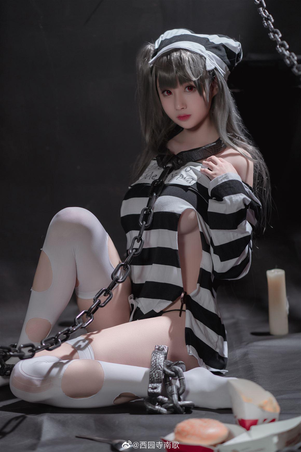 《碧蓝航线》水星纪念之牢狱与诱惑Cosplay【CN:西园寺南歌】 (9P)-第4张