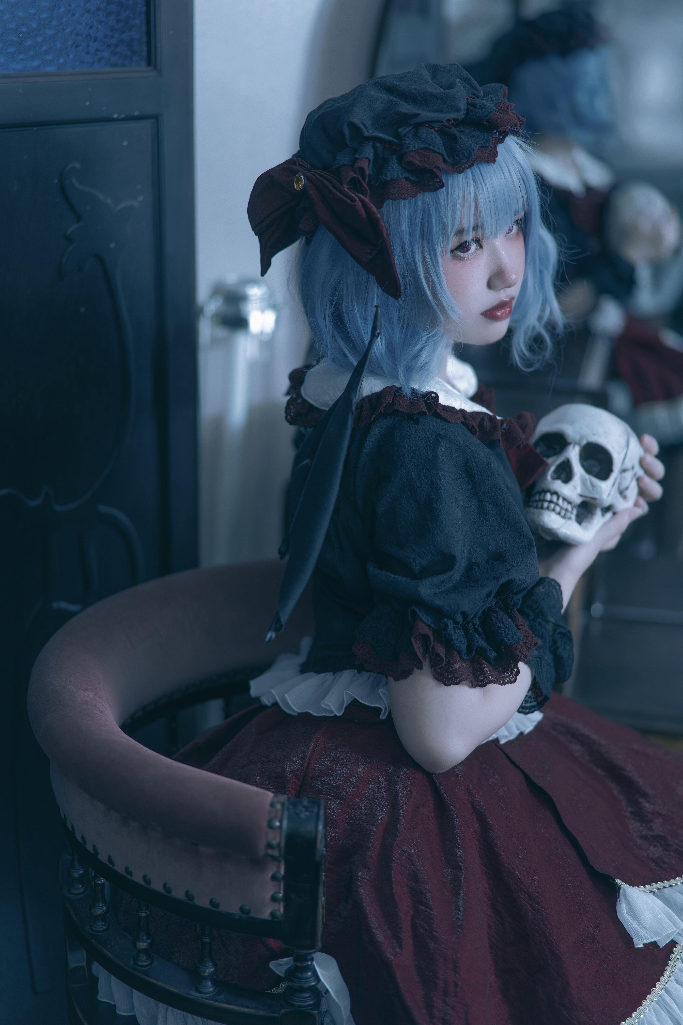 《东方PROJECT》蕾米莉亚cosplay【CN:我是谁你不想知道】-第3张