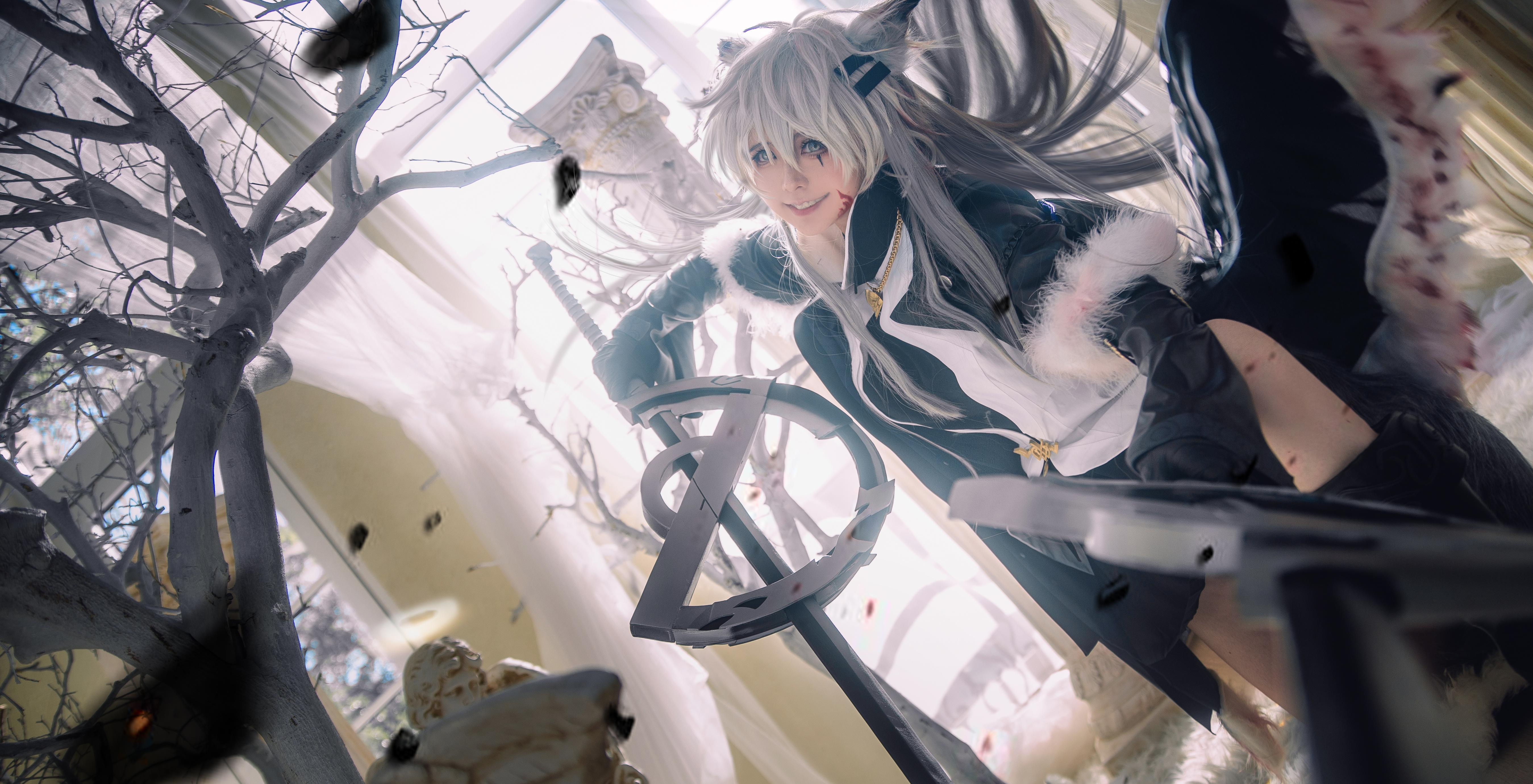 《明日方舟》拉普兰德cosplay【CN:渊秧】-第5张