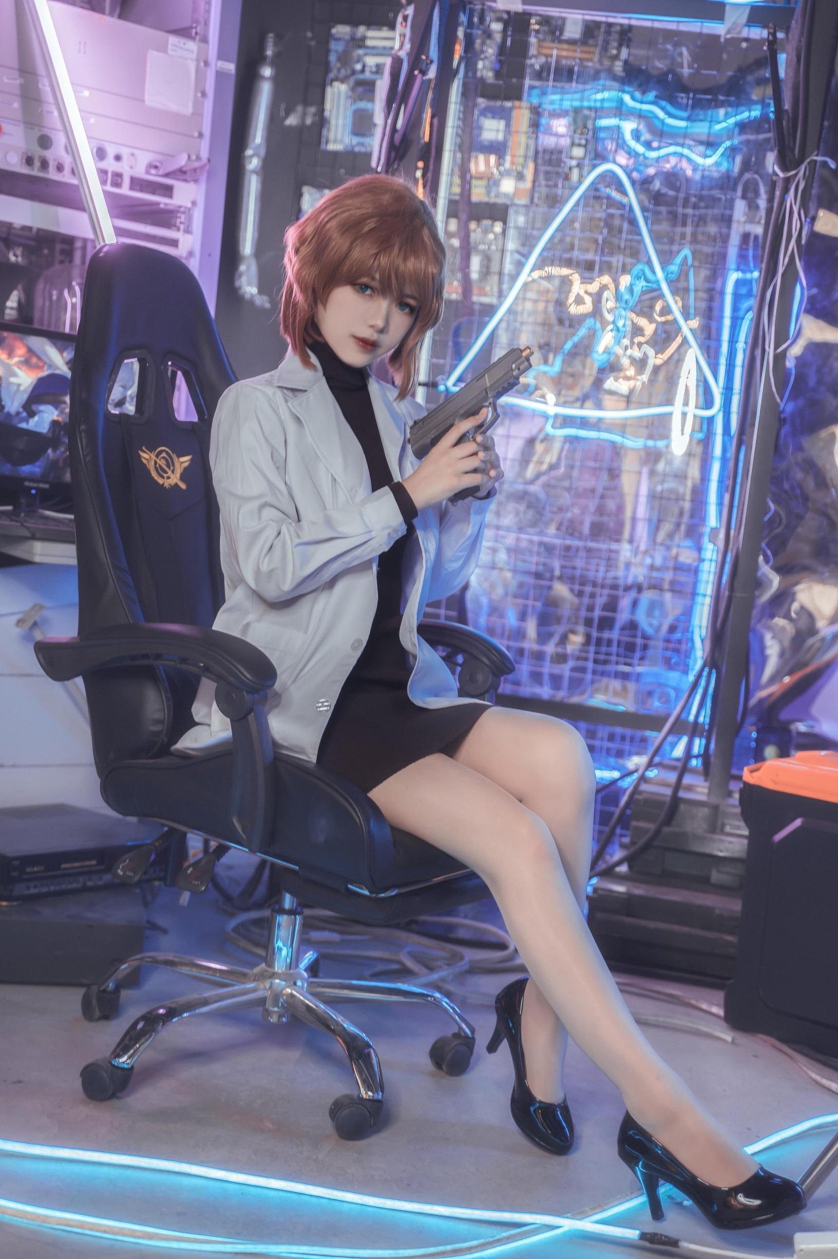 《名侦探柯南》正片cosplay【CN:兔酱_Usagi】 -lol风女cosplay图片插图