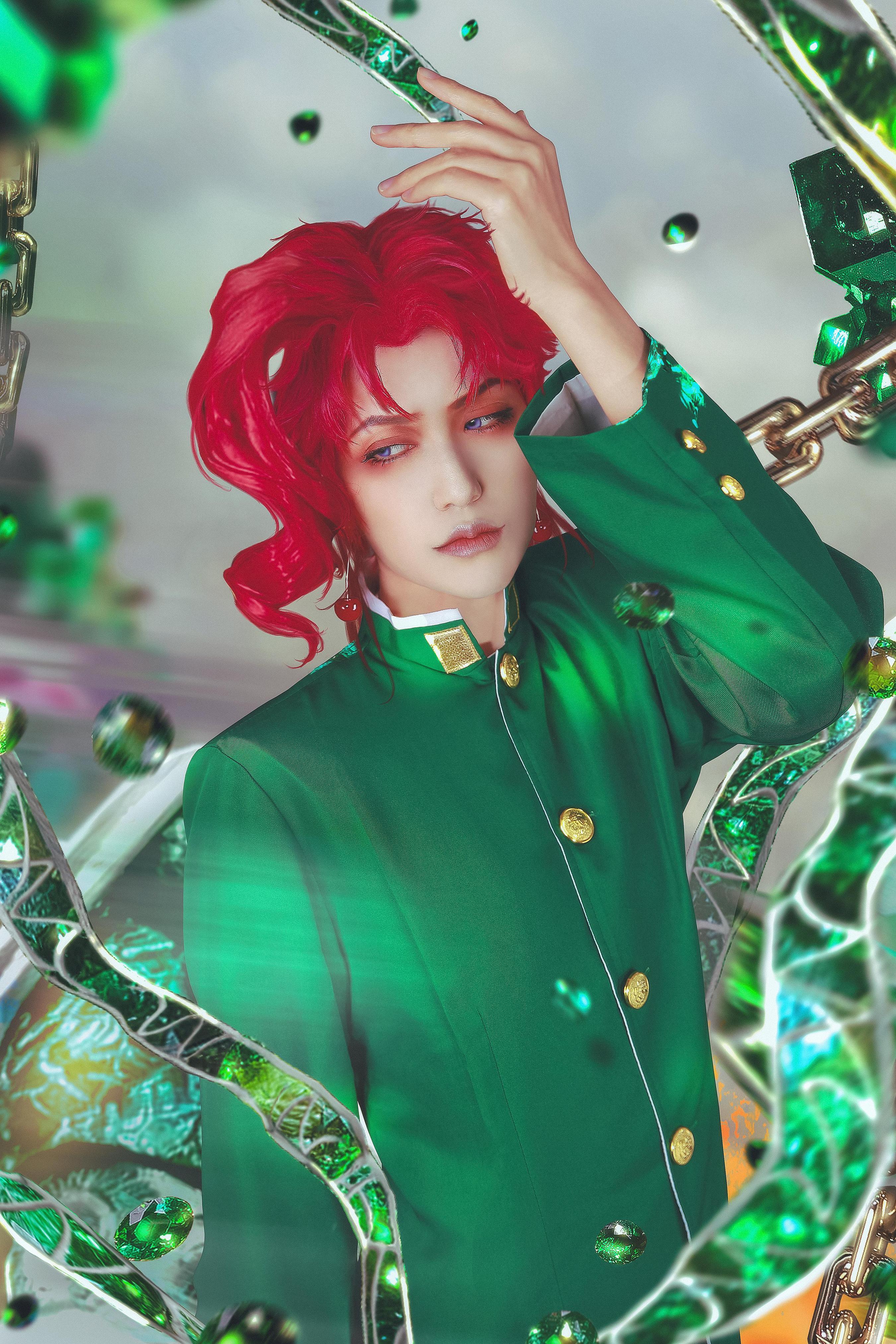 《JOJO的奇妙冒险》花京院典明cosplay【CN:一矢_Ichiya】-第1张