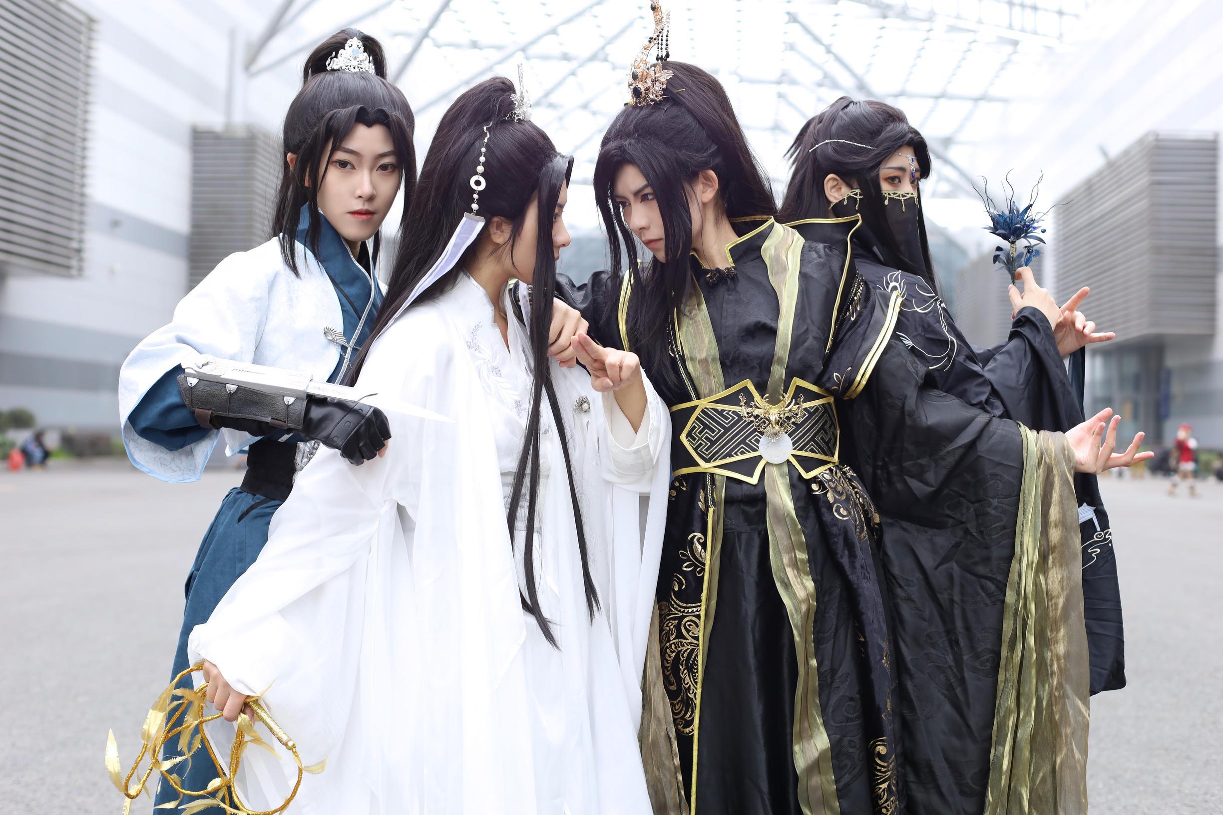 《二哈和他的白猫师尊》楚晚宁cosplay【CN:沐梓_樱柒】-第13张