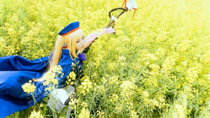 [COS]FGO   阿尔托莉雅·潘德拉贡   @一X夏天X一   (摄影:@摄影师铭言) (9P) -碧蓝航线cosplay图片插图