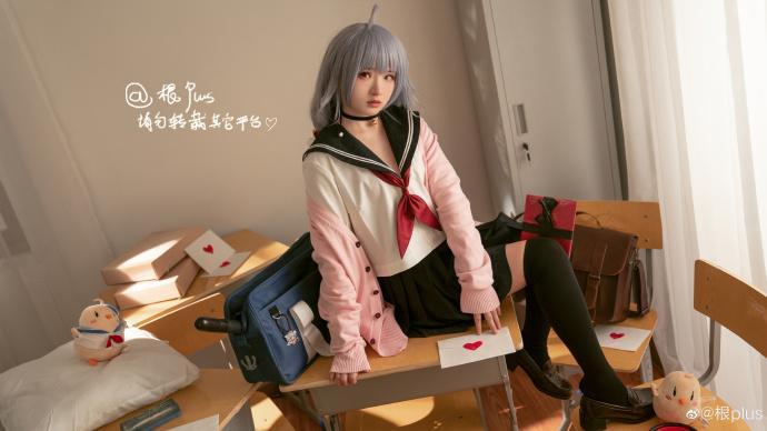 [COS]碧蓝航线   尼古拉斯    @根plus (9P) -科学家cosplay图片插图