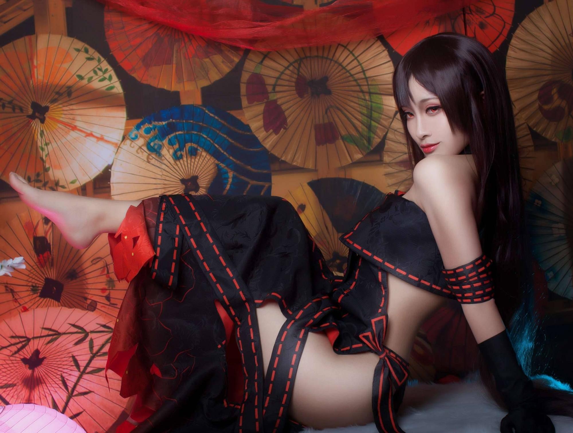 《Fate/GrandOrder》虞美人Cosplay【CN:洛璃LoLiSAMA】 (9P)-第9张