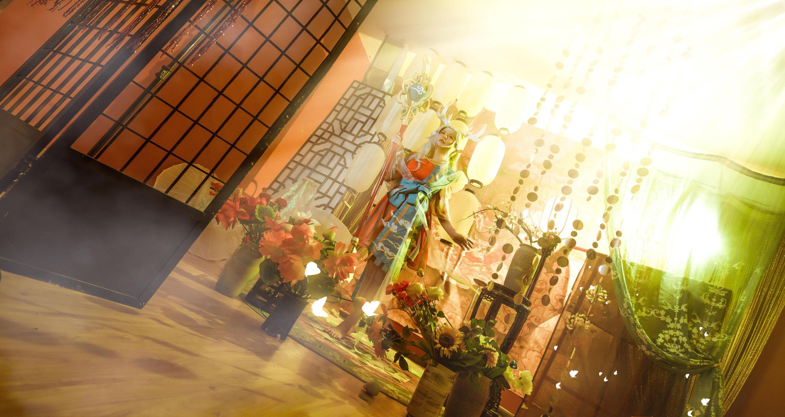 《王者荣耀》王者荣耀瑶cosplay【CN:一小风轻轻的吹一】 -cosplay图片秦时明月插图