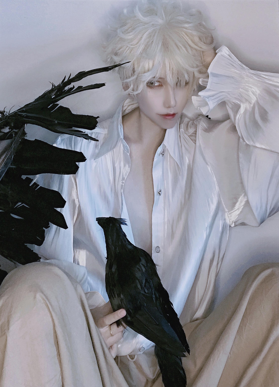 试妆cosplay【CN:斑厂长和囧天两个小垃圾】-第4张