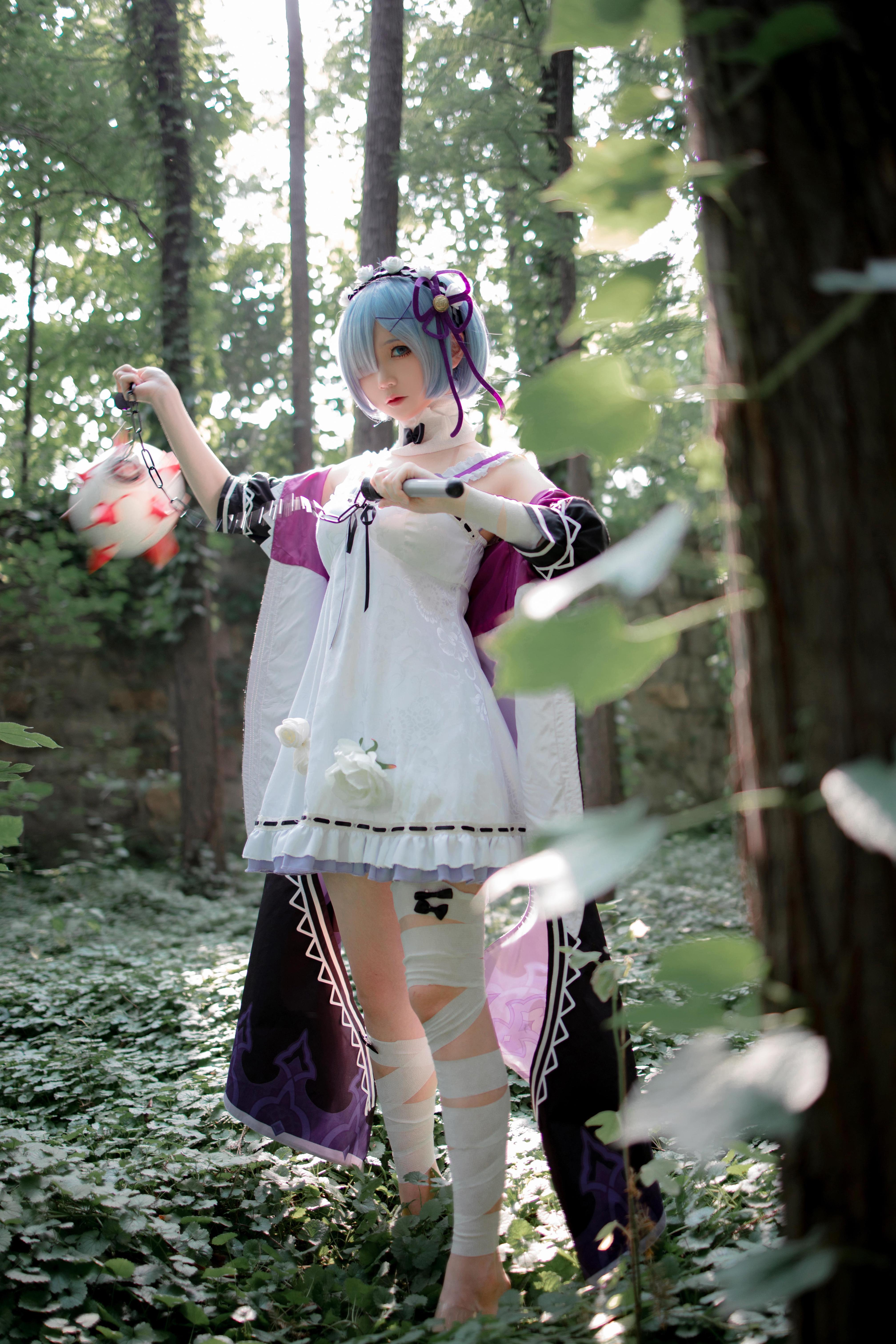 《RE:从零开始的异世界生活》蕾姆cosplay【CN:楚楚子】-第3张