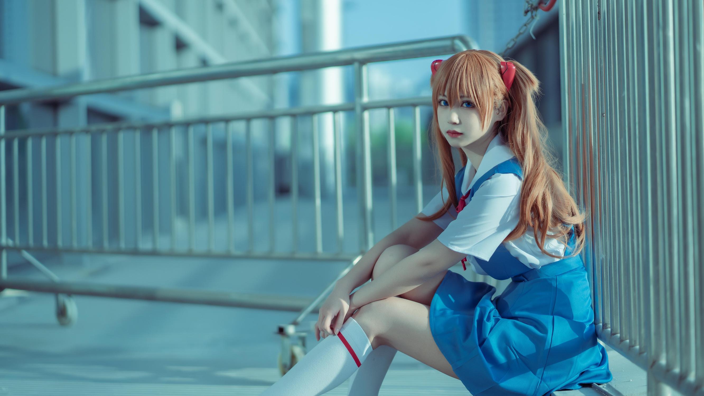 《新世纪福音战士》新世纪福音战士明日香cosplay【CN:念离-今天也是条咸鱼】-第3张