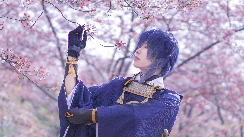 《刀剑乱舞》三日月宗近cosplay【CN:槭述】-第7张