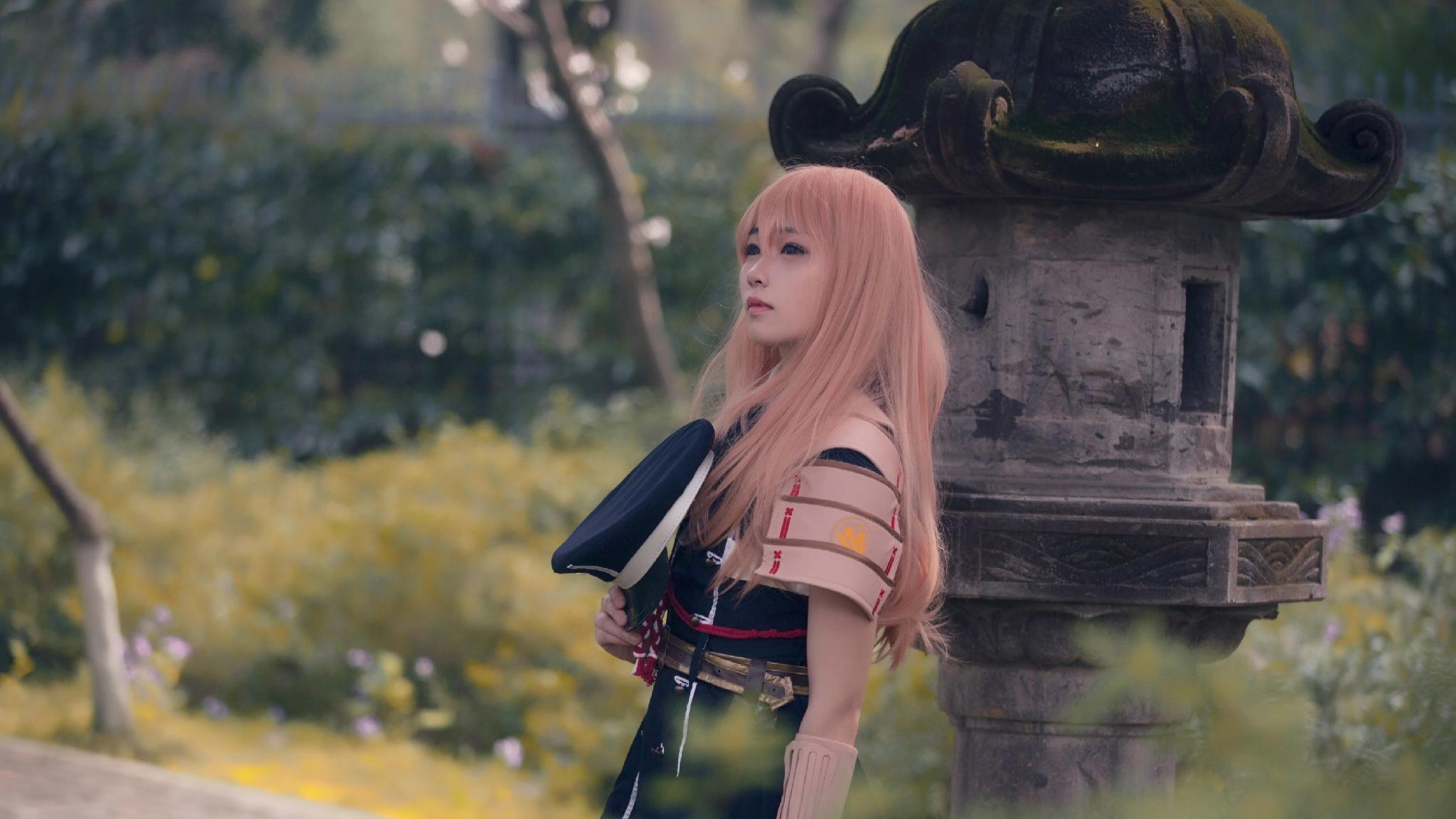 《刀剑乱舞》乱藤四郎cosplay【CN:绯茶】-第2张