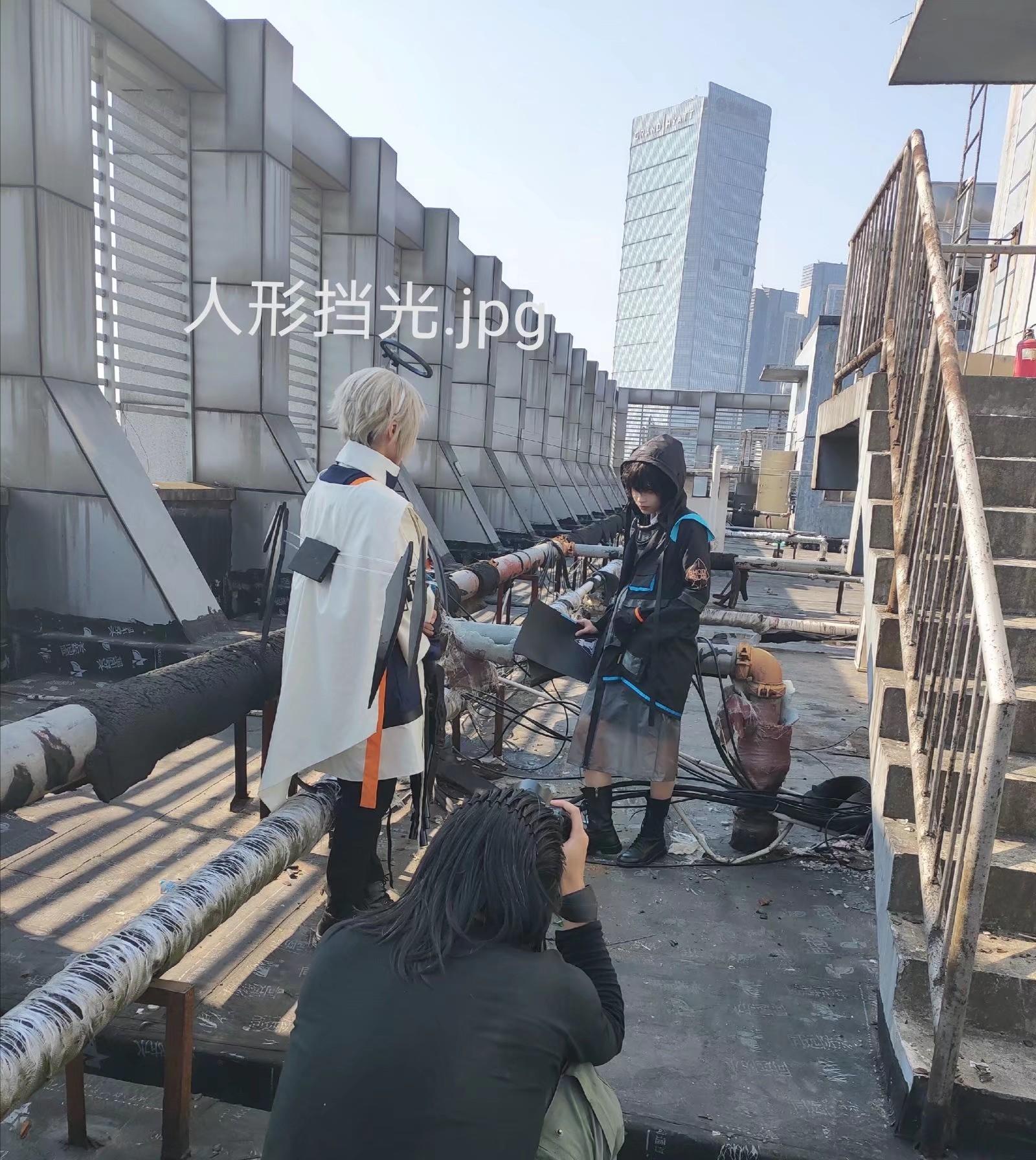 《明日方舟》表情包cosplay【CN:令和废物飘大炮】-第7张