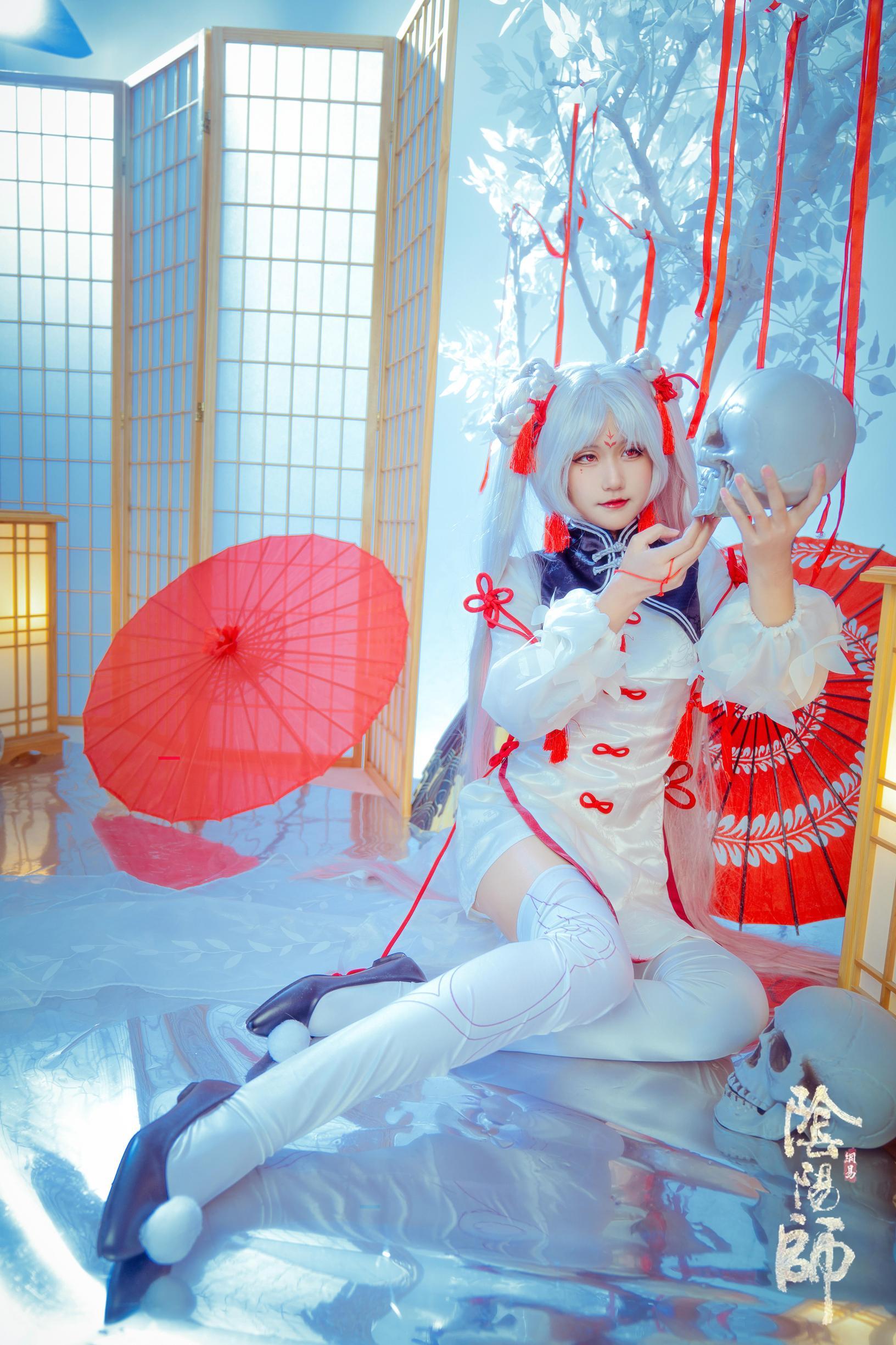 正片cosplay【CN:月球撞乔_】 -cosplay肛塞兔尾巴图片插图