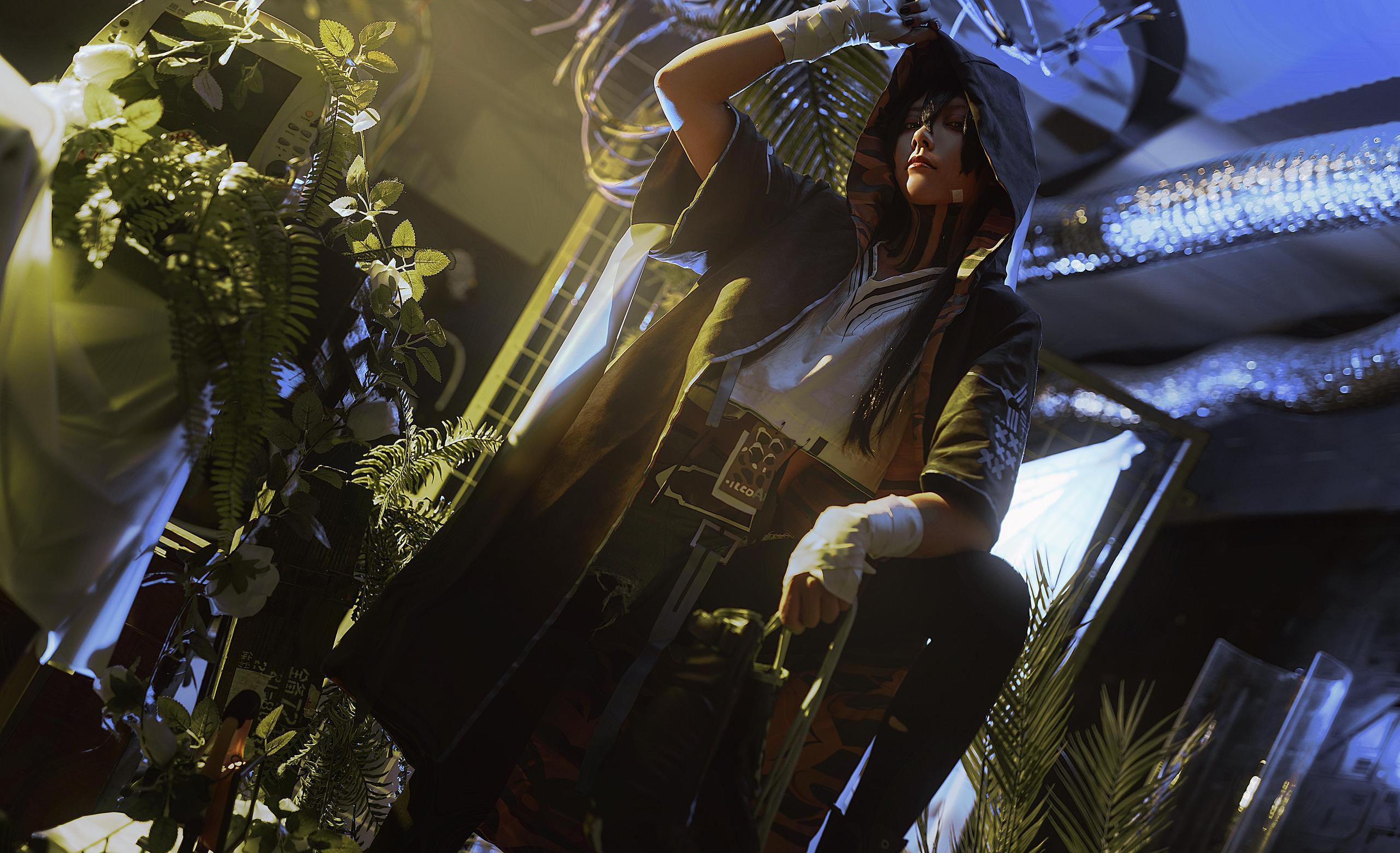《明日方舟》正片cosplay【CN:阿鹤呀】 -cosplay人图片插图