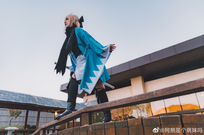 FATE   冲田总司   @阿熊是个萌妹吗 (9P)-第3张