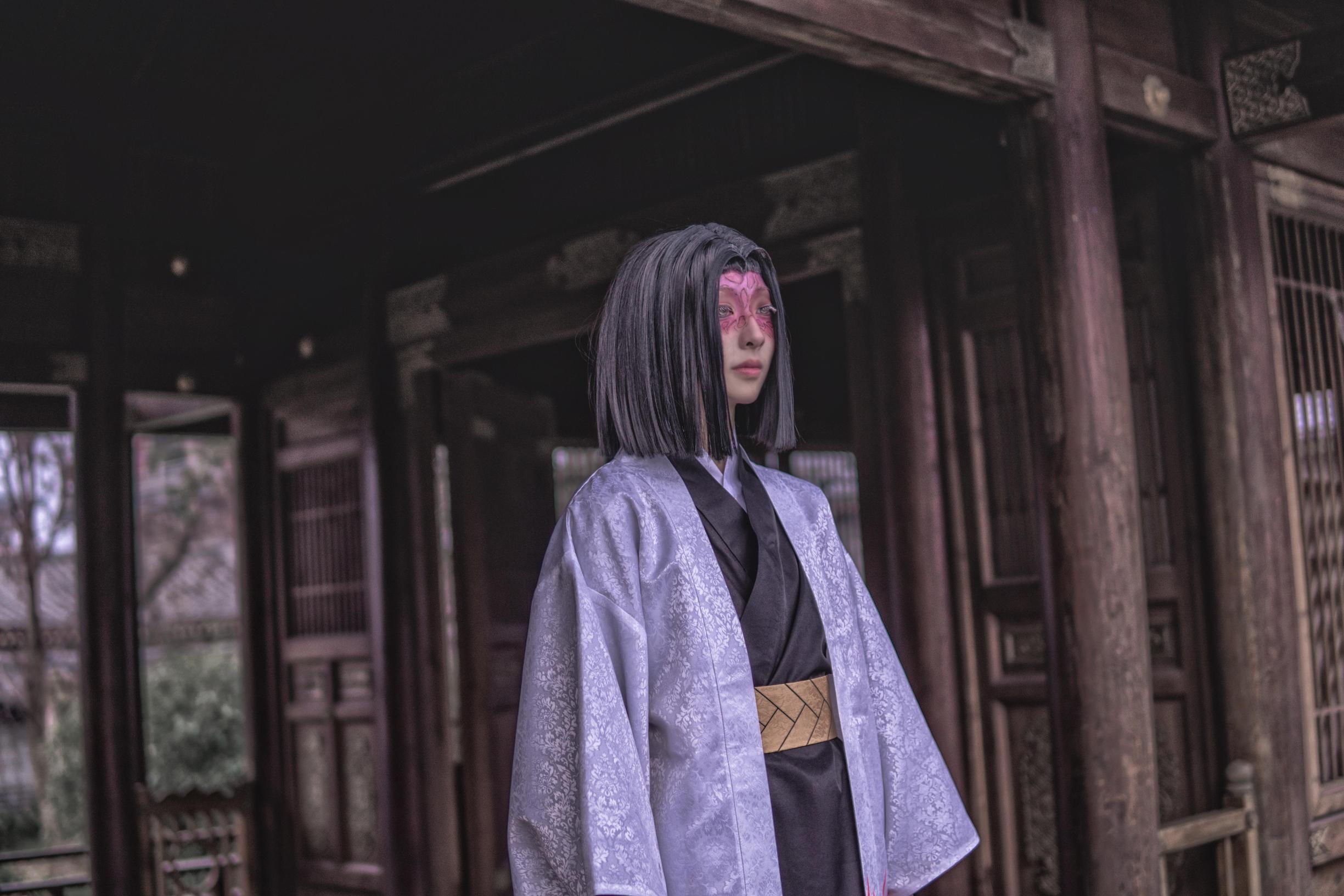 《鬼灭之刃》鬼杀队cosplay【CN:亦白Aluka】-第19张