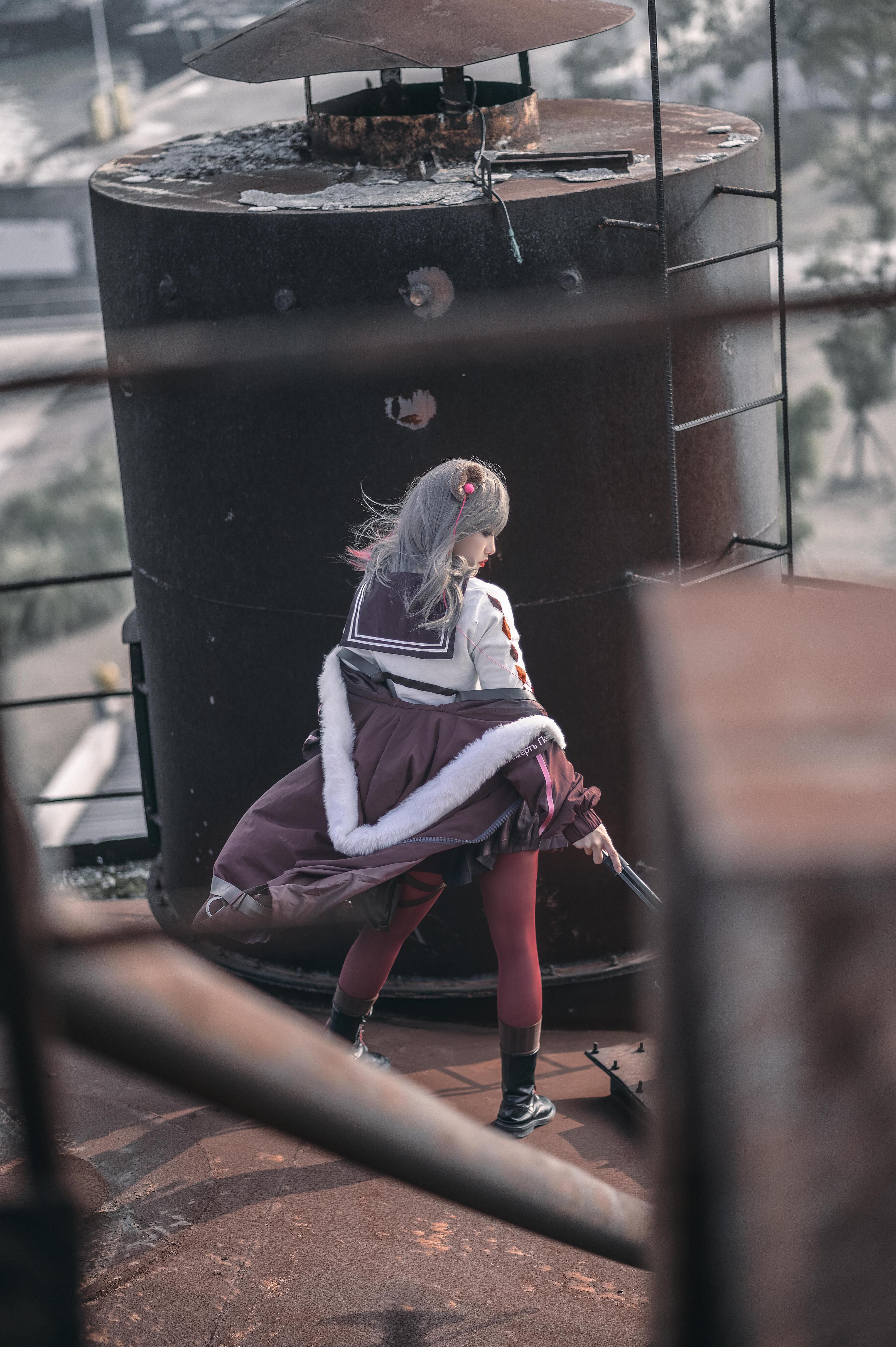 《明日方舟》正片cosplay【CN:小青姑娘闭关修炼中】-第13张