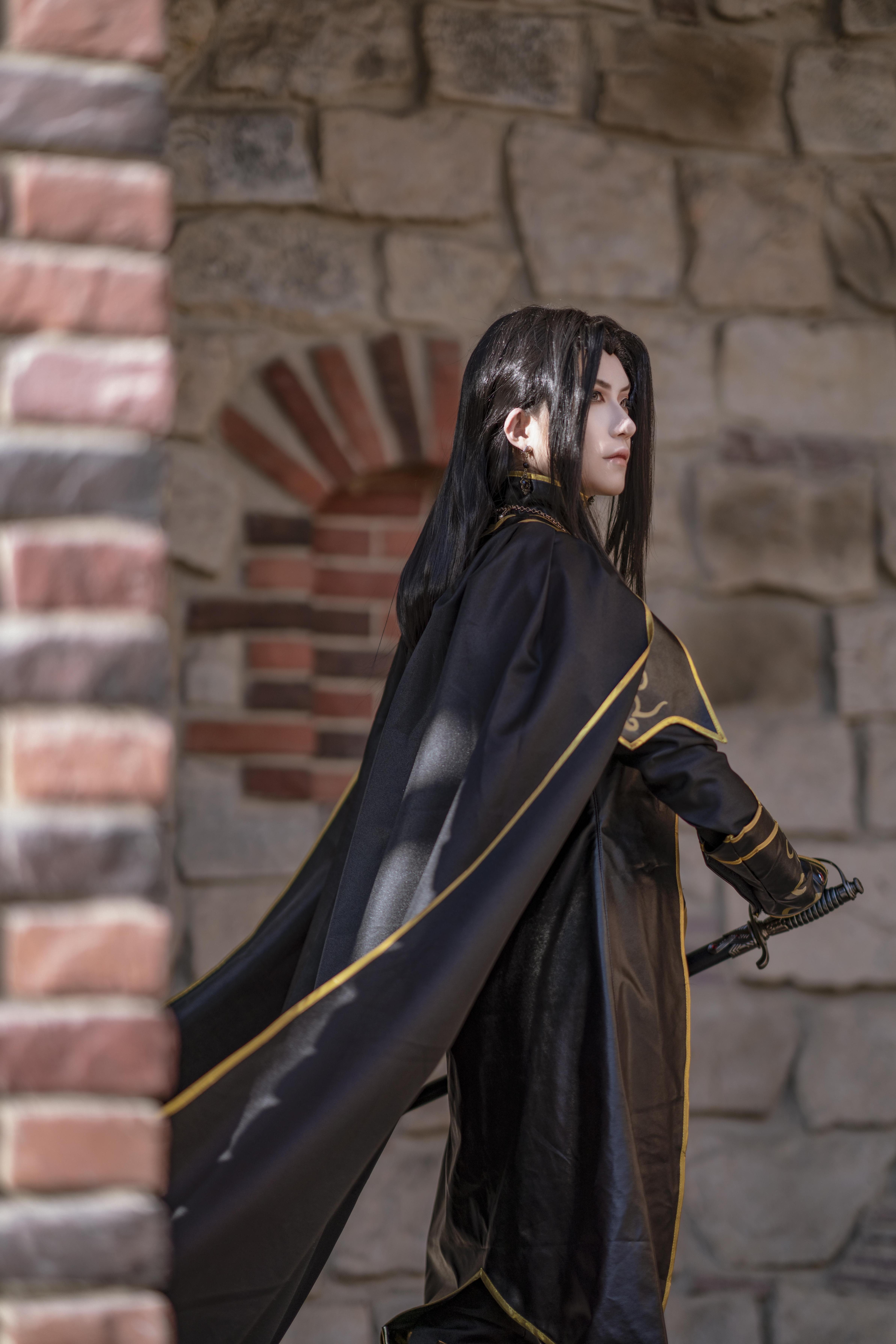 《天神右翼》正片cosplay【CN:斯诺_Yukina】-第15张