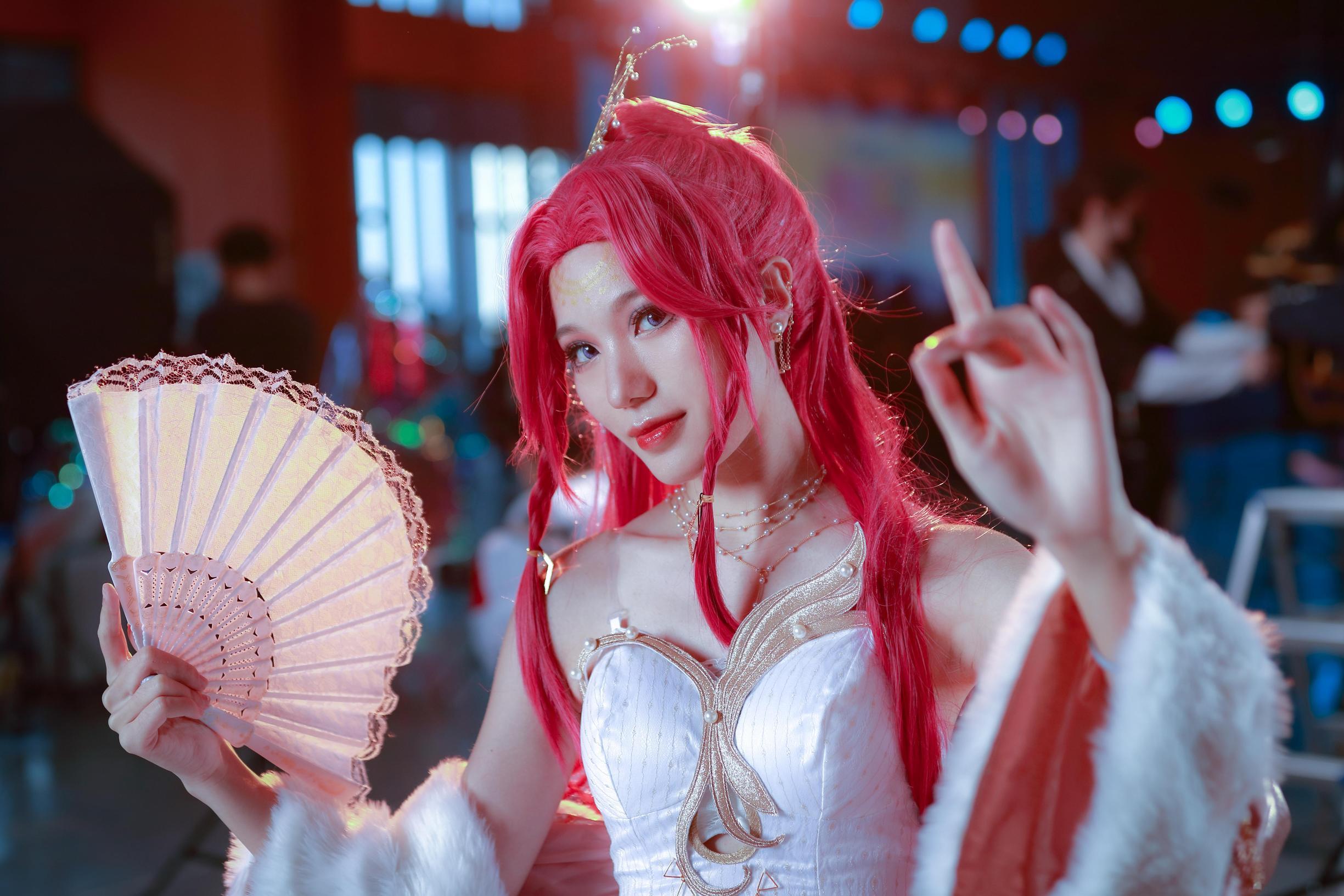 《王者荣耀》礼服cosplay【CN:木芍不是勺】-第1张