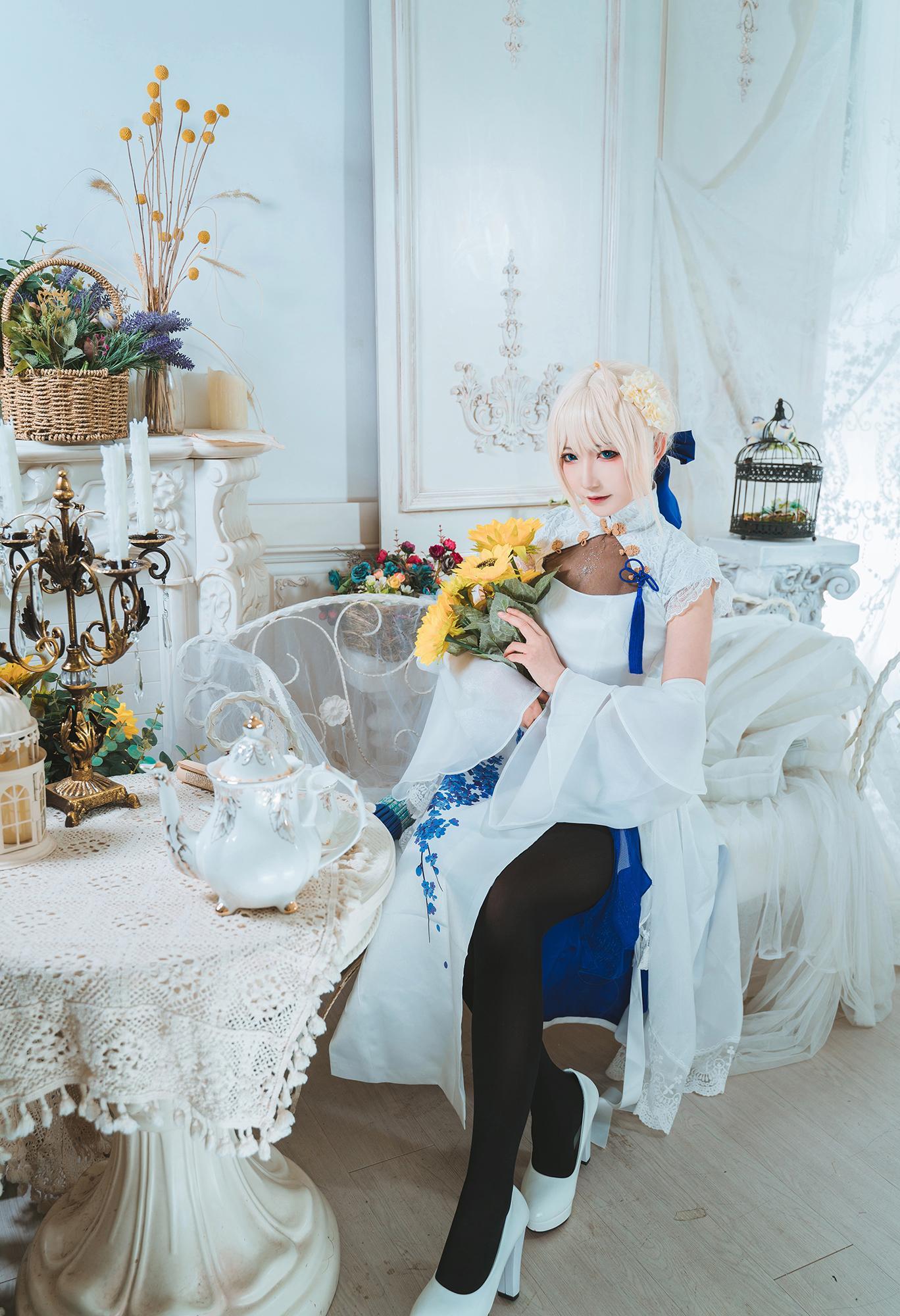 《FATE/GRAND ORDER》旗袍cosplay【CN:许多鱼鱼鱼】-第6张