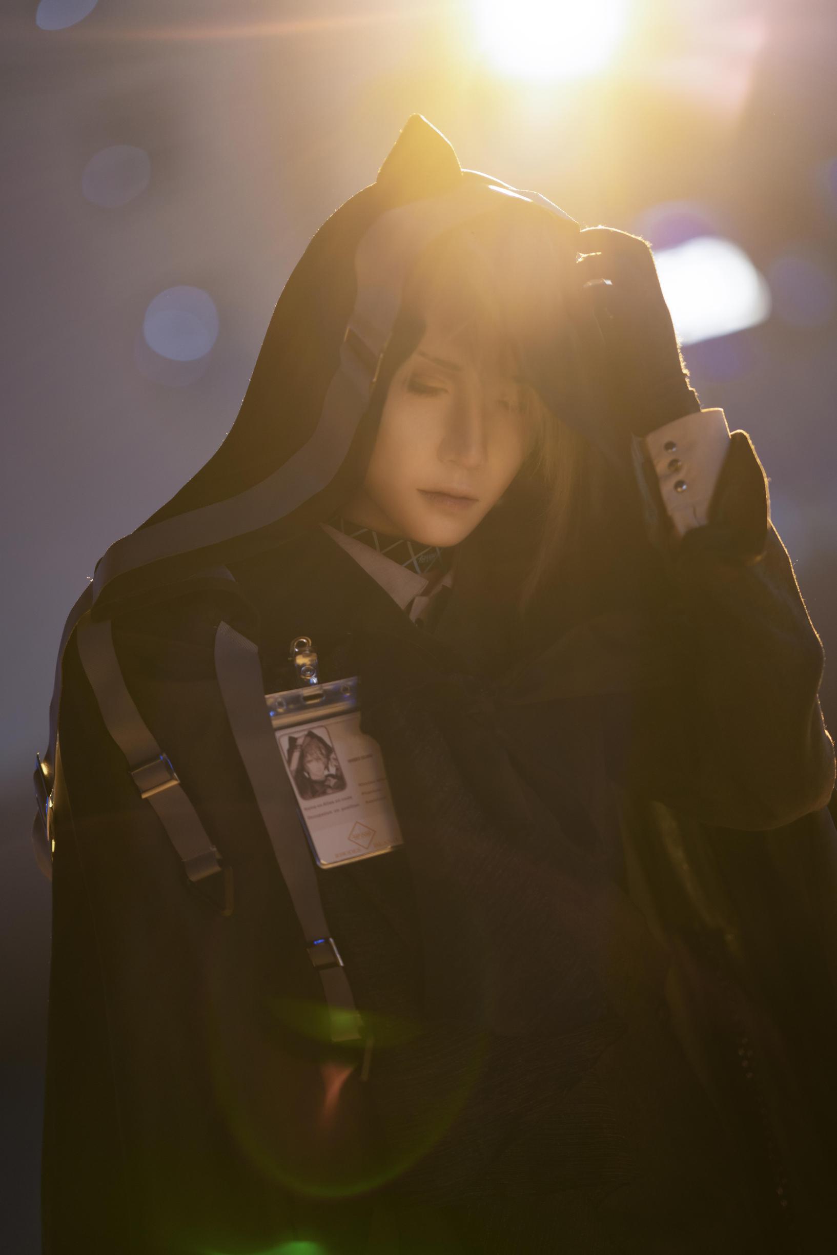 《明日方舟》正片cosplay【CN:斯诺_Yukina】-第2张