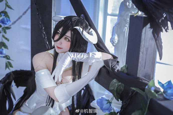 [COS]OVERLORD   雅儿贝德   @机智璃 (9P) -安迷修cosplay图片插图
