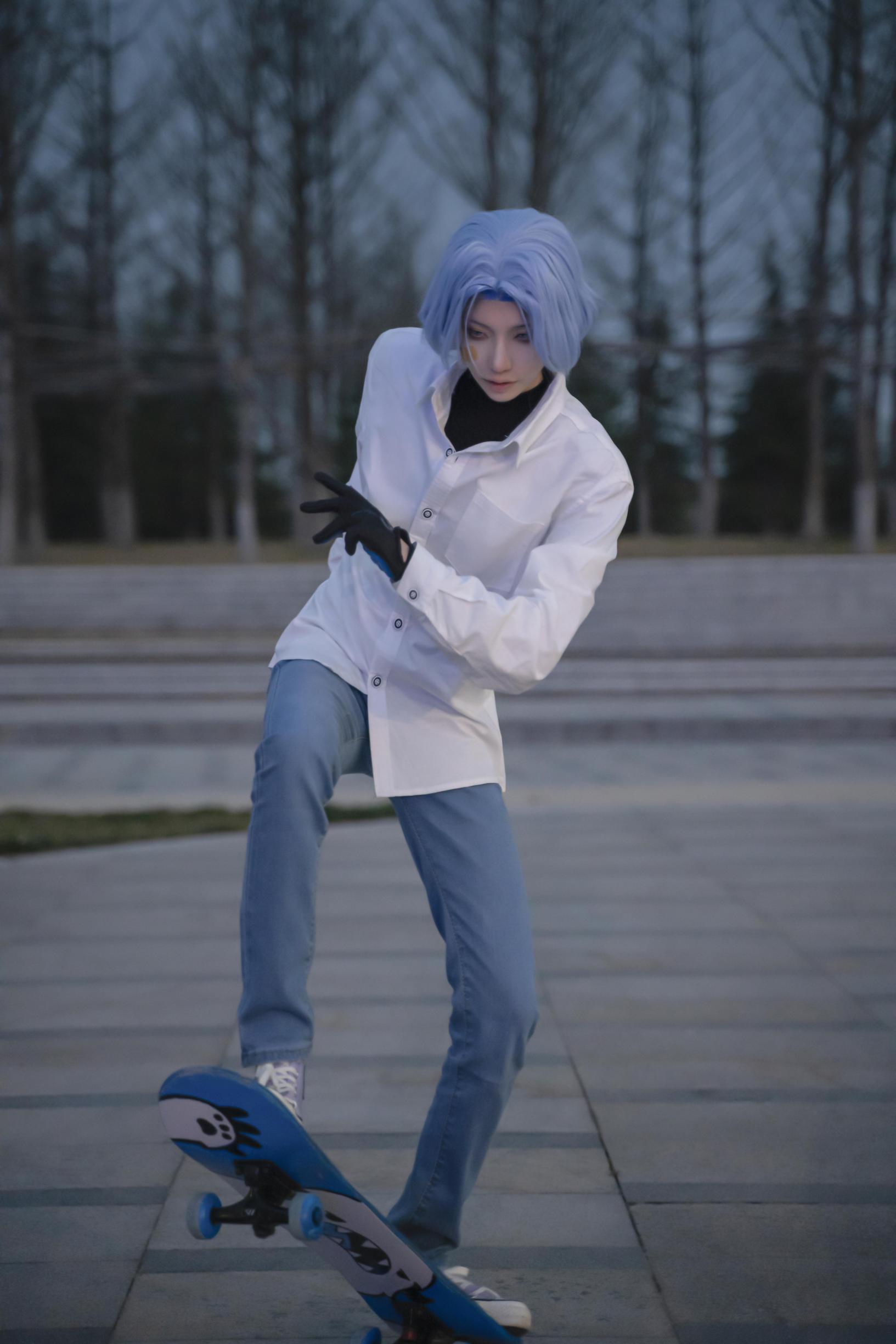《无限滑板》正片cosplay【CN:斯诺_Yukina】-第5张