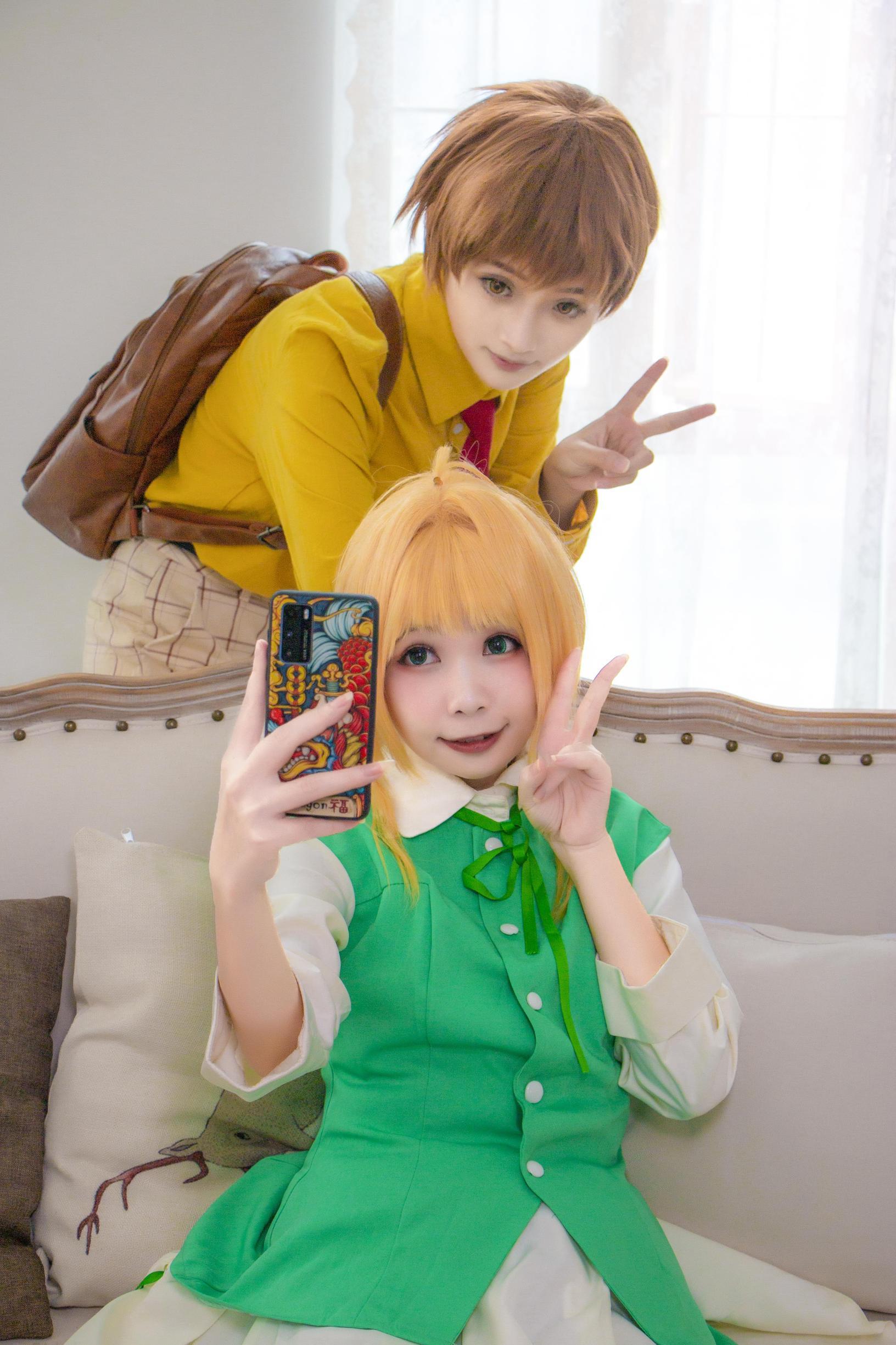 《魔卡少女樱》百变小樱cosplay【CN:海鲜君】-第2张