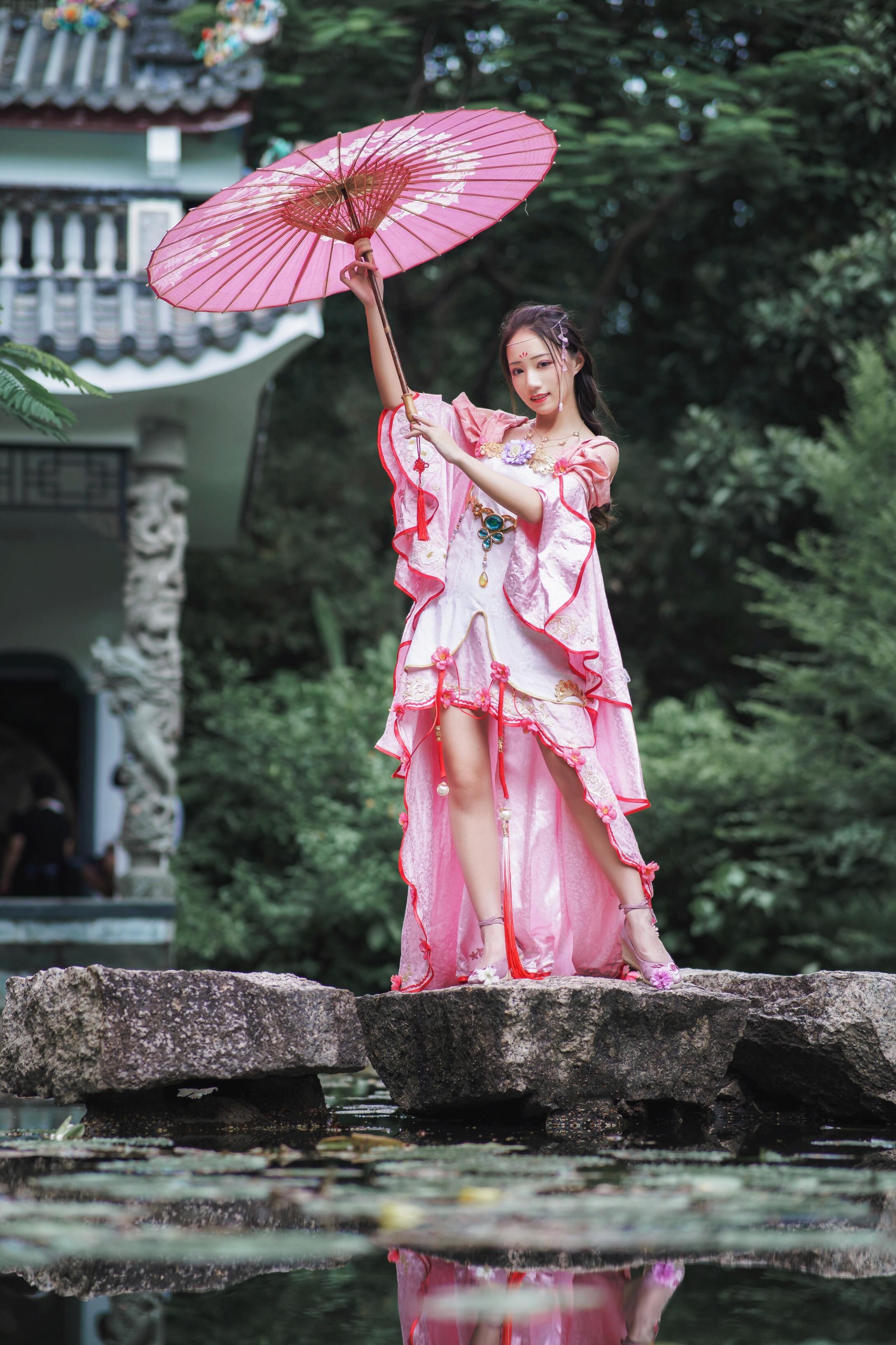 《天涯明月刀OL》古风cosplay【CN:Serian_莲梓什锦酱】-第2张