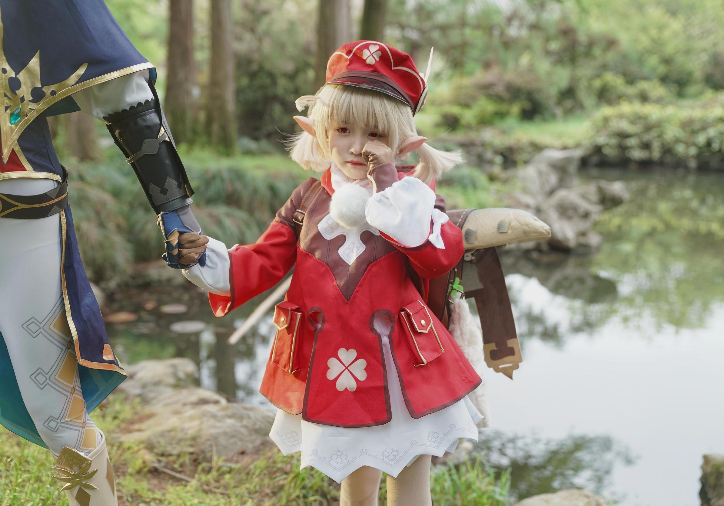 《原神》游戏cosplay【CN:小无邪和猪小糖】-第9张