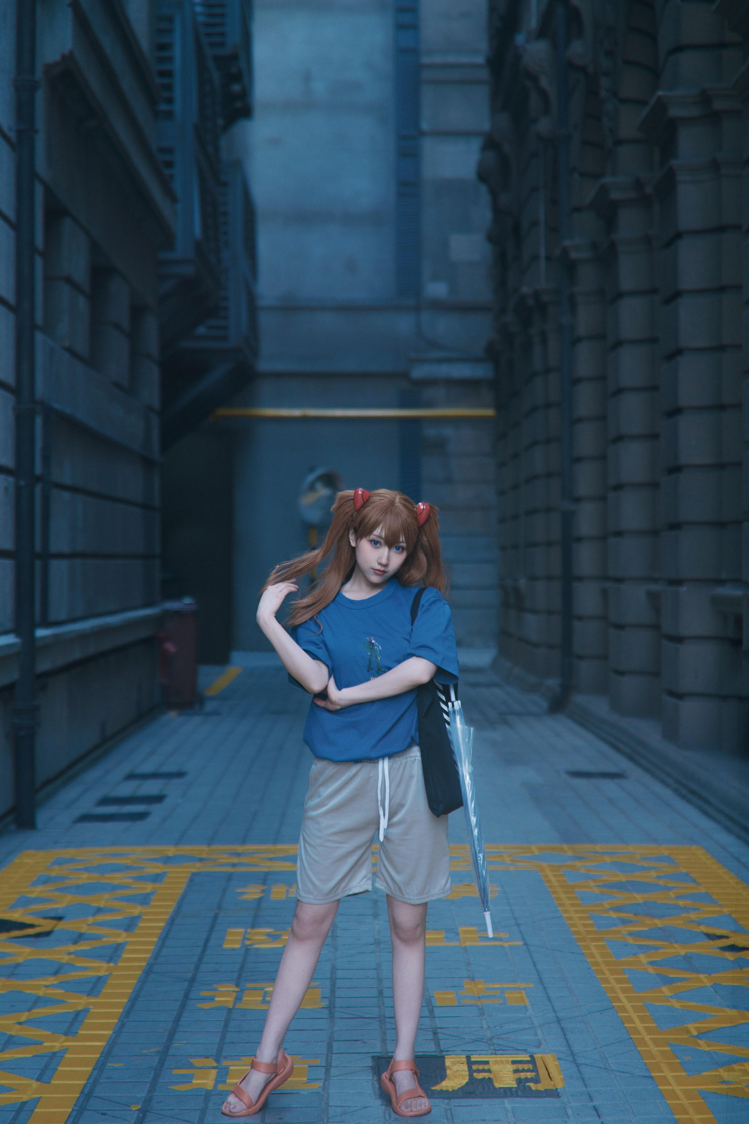 《新世纪福音战士》明日香cosplay【CN:阿凡usagi】-第11张