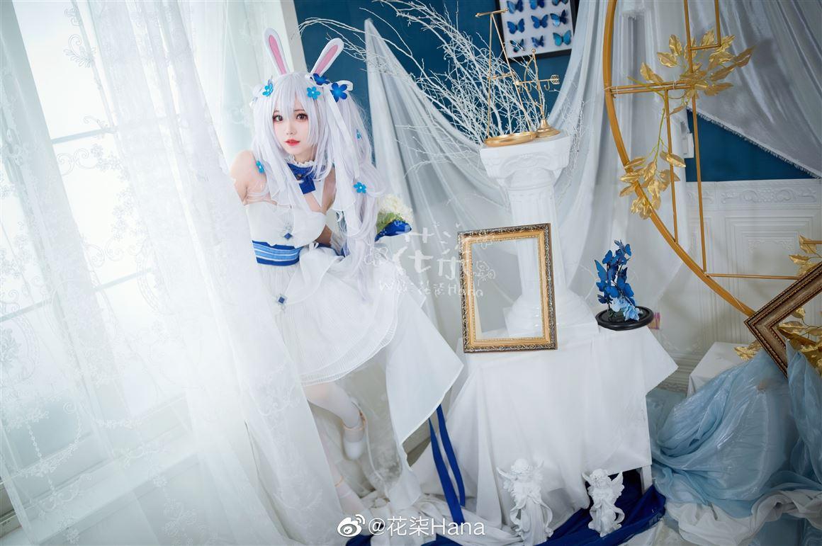 [COS]《碧蓝航线》拉菲可爱的Cosplay【CN:花柒Hana】 (9P) -三玖cosplay图片插图