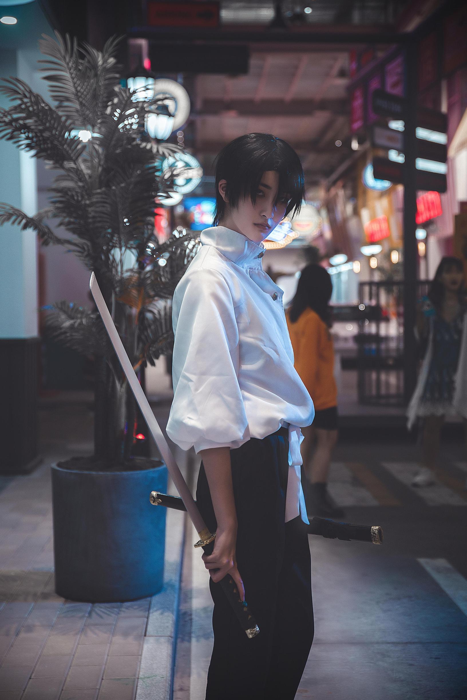 《咒术回战》推荐cosplay【CN:饺子不能吃x】 -孙策伯符cosplay图片插图