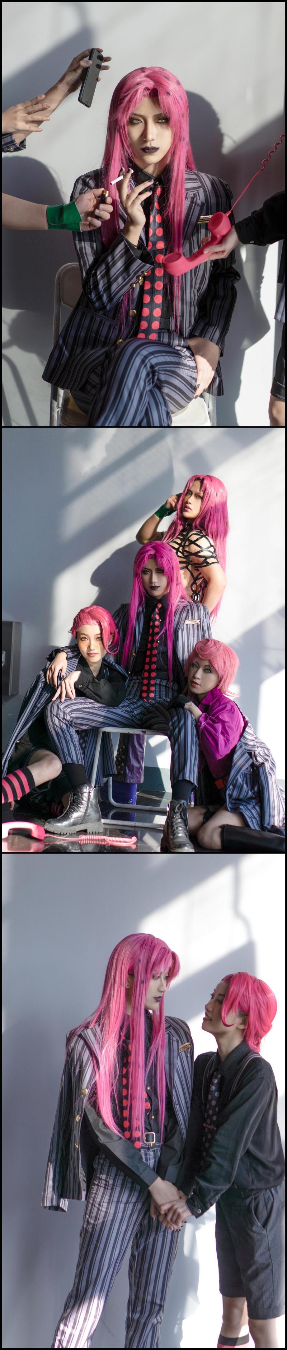 《JOJO的奇妙冒险》漫展cosplay【CN:约拉】-第7张