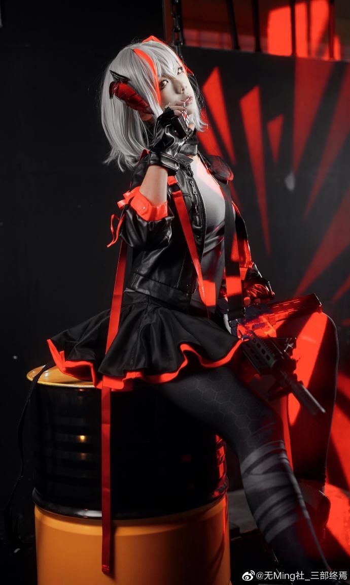[COS]明日方舟   W   @无Ming社_三部终焉 (9P) -动漫周边cosplay图片下载插图