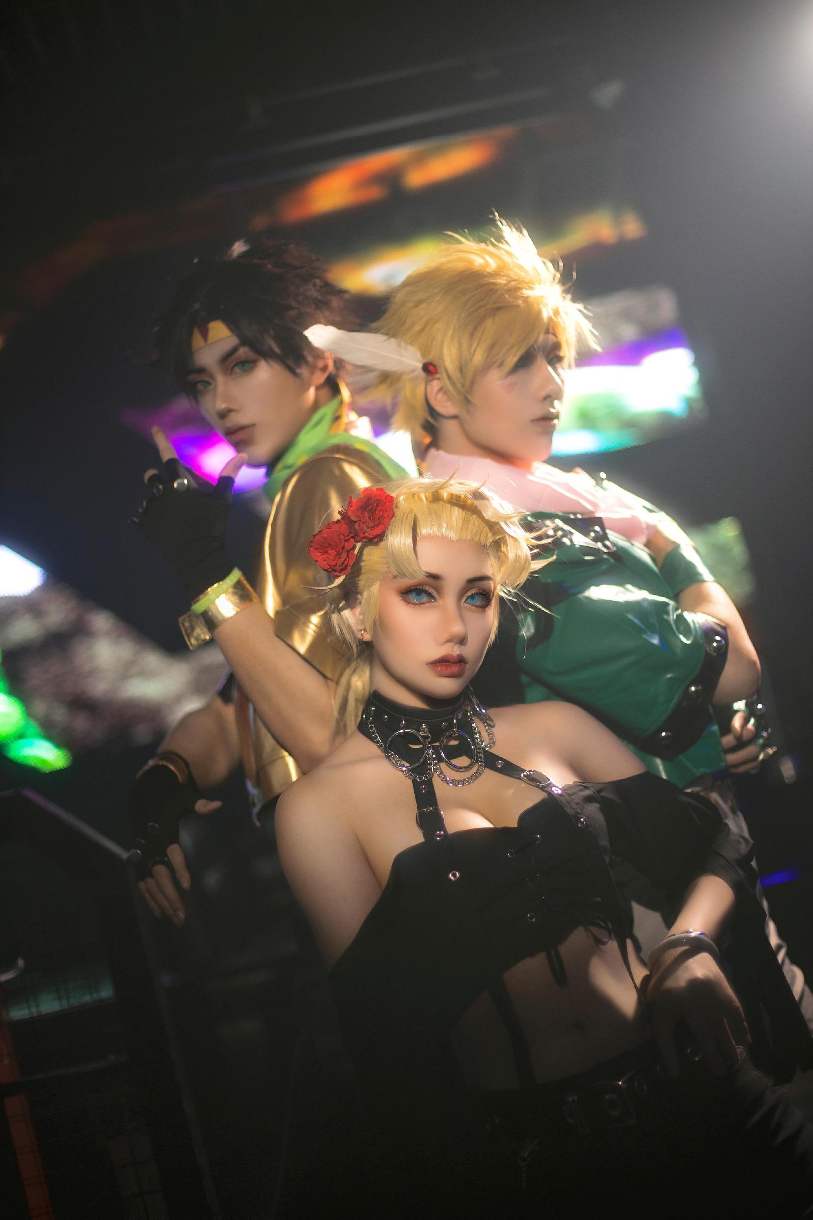 《JOJO的奇妙冒险》不敢cosplay【CN:七夜喵】-第1张