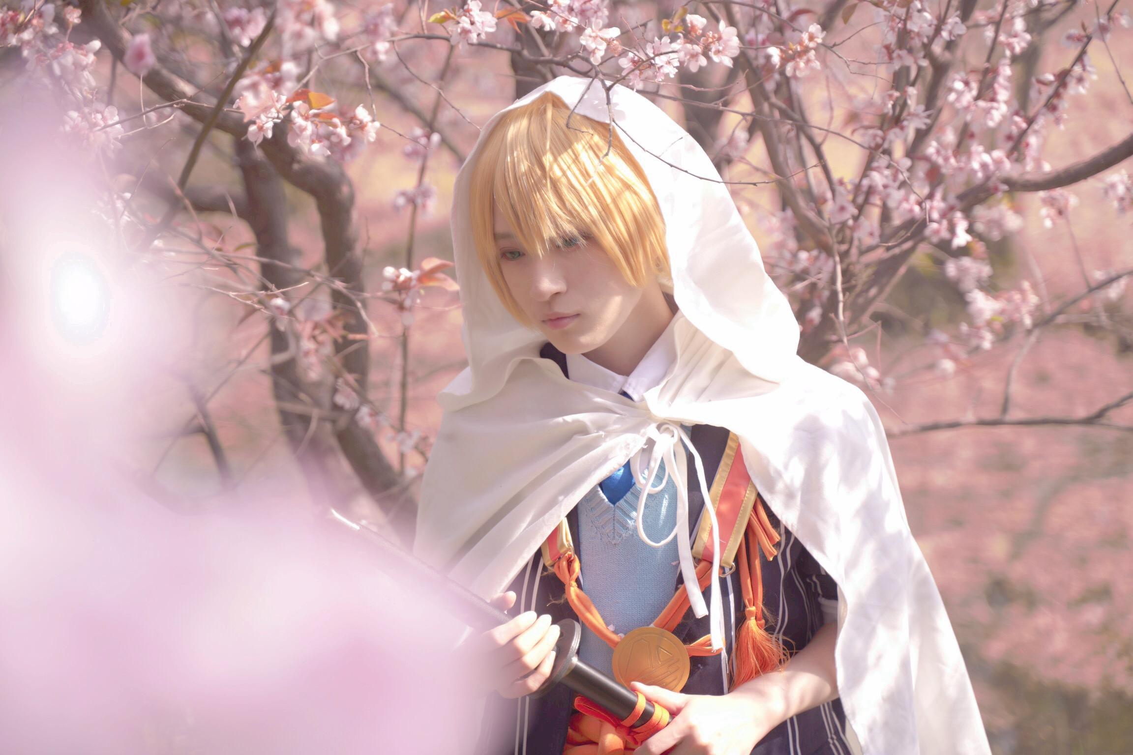 《刀剑乱舞》山姥切国广cosplay【CN:猹狸inoni】-第5张