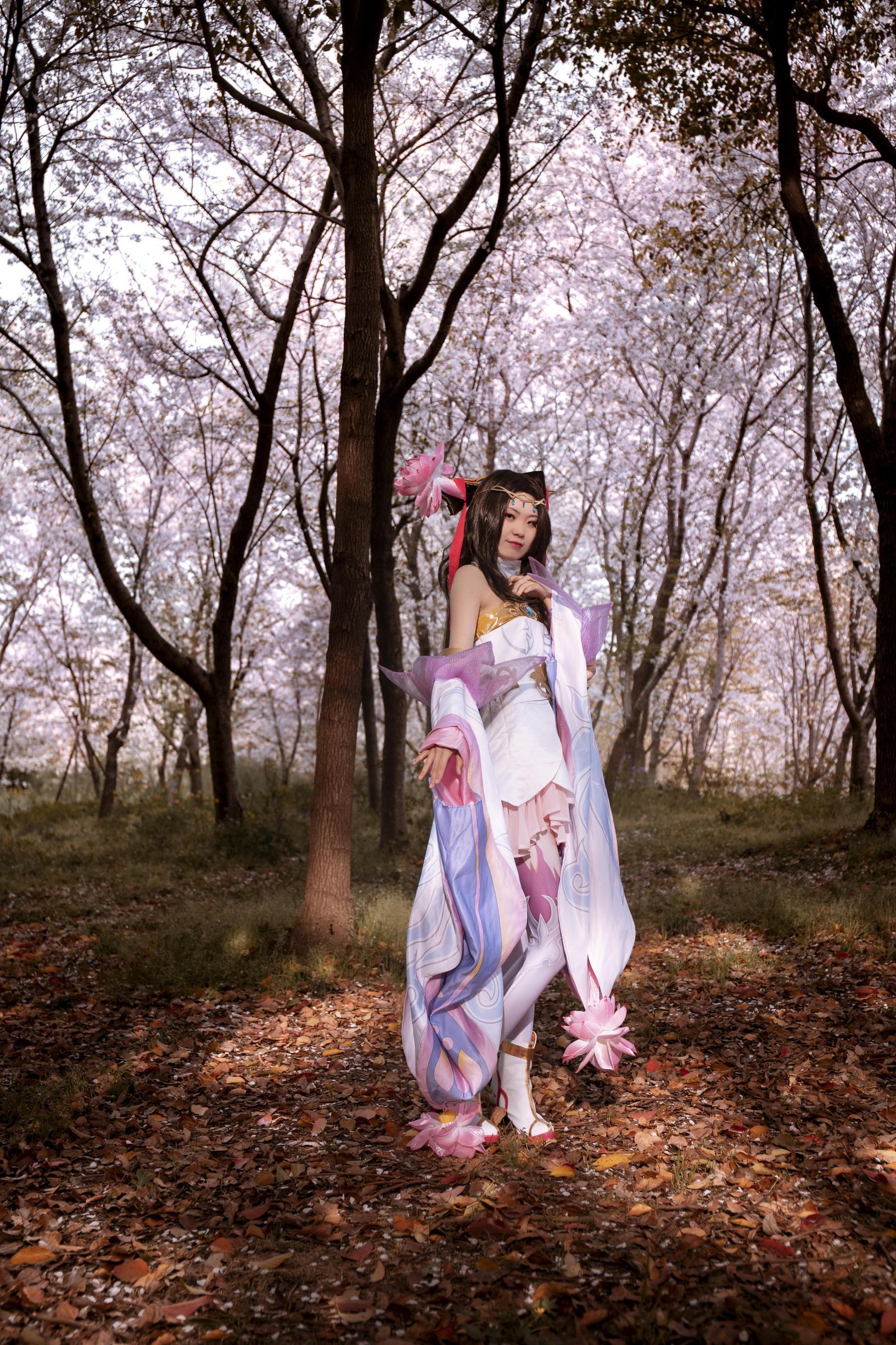 《王者荣耀》游戏cosplay【CN:Cappuccino五分甜】-第5张