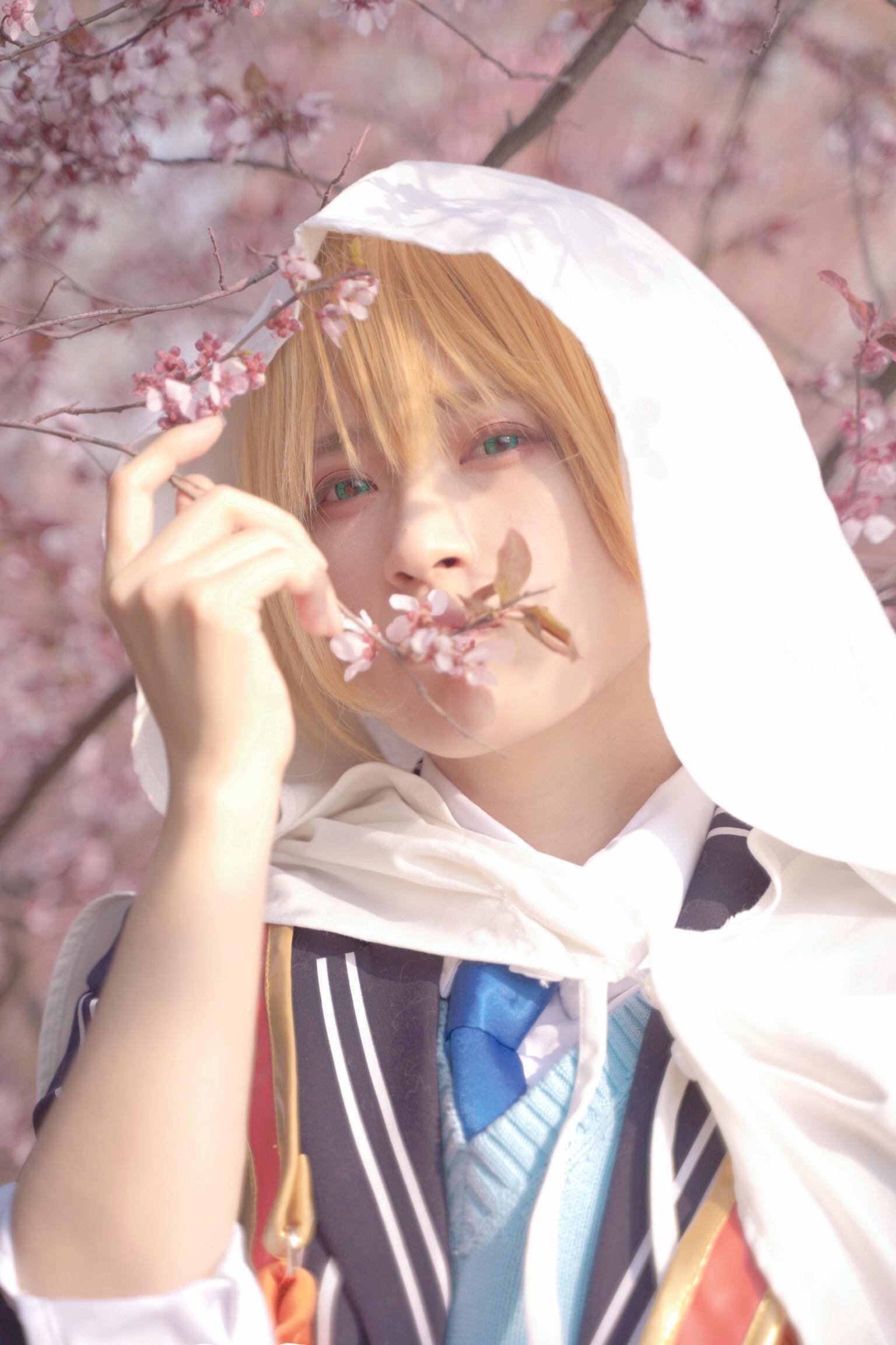 《刀剑乱舞》山姥切国广cosplay【CN:猹狸inoni】-第1张
