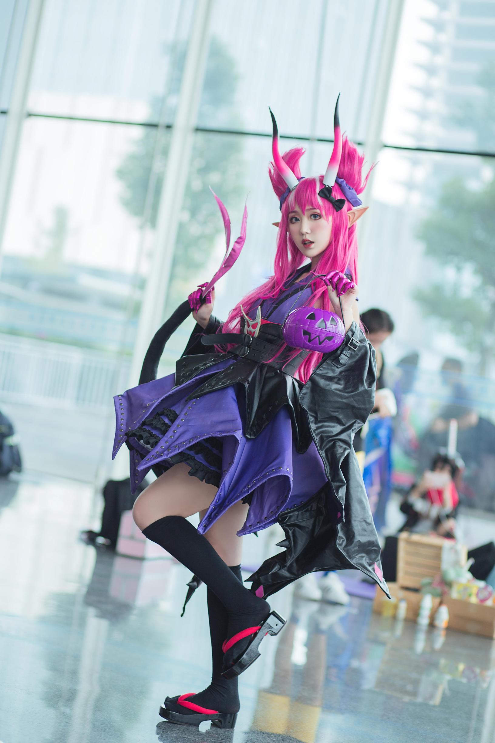 龙娘cosplay【CN:花花花赭子】-第3张