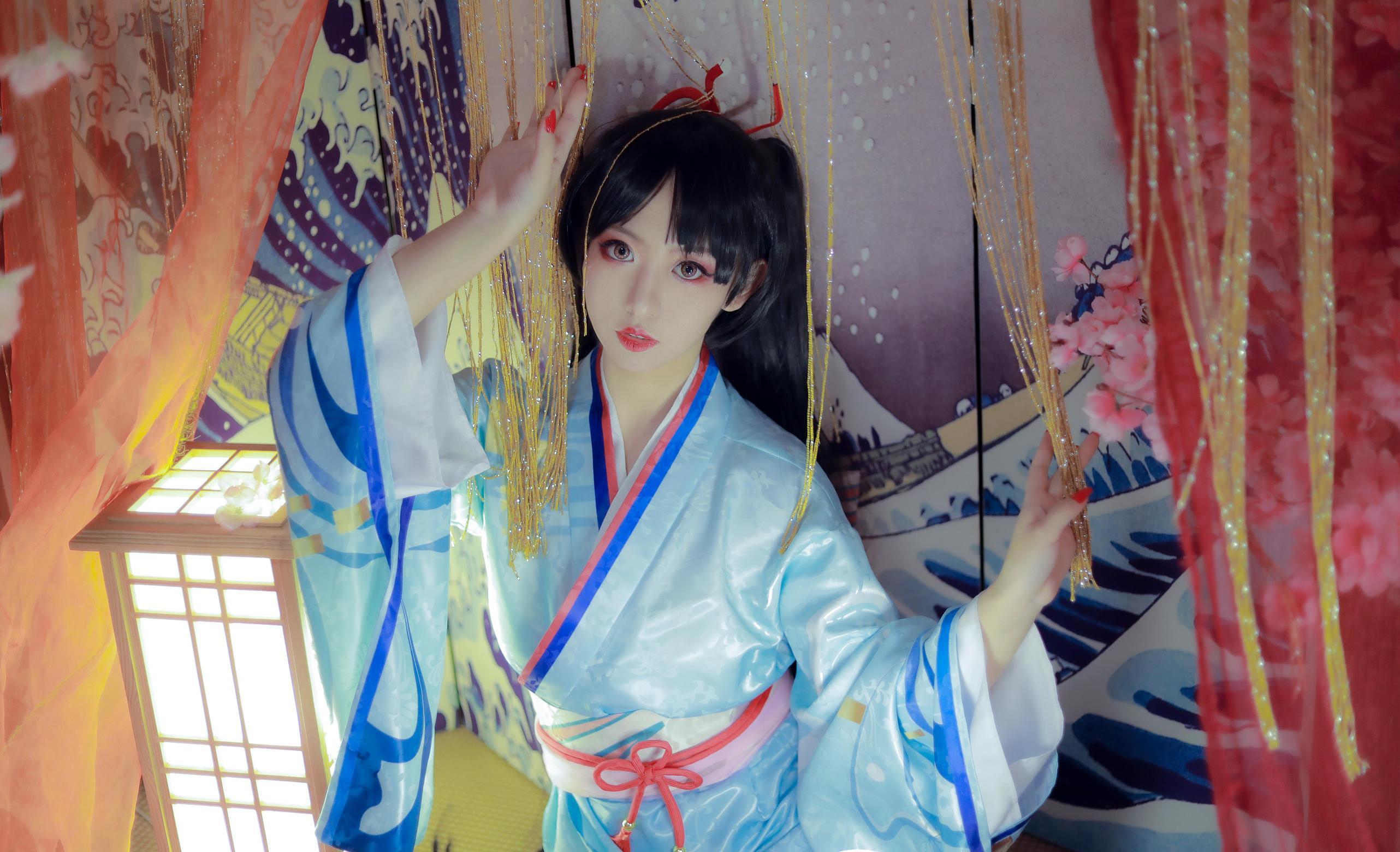 《阴阳师手游》正片cosplay【CN:程言柒】-第3张