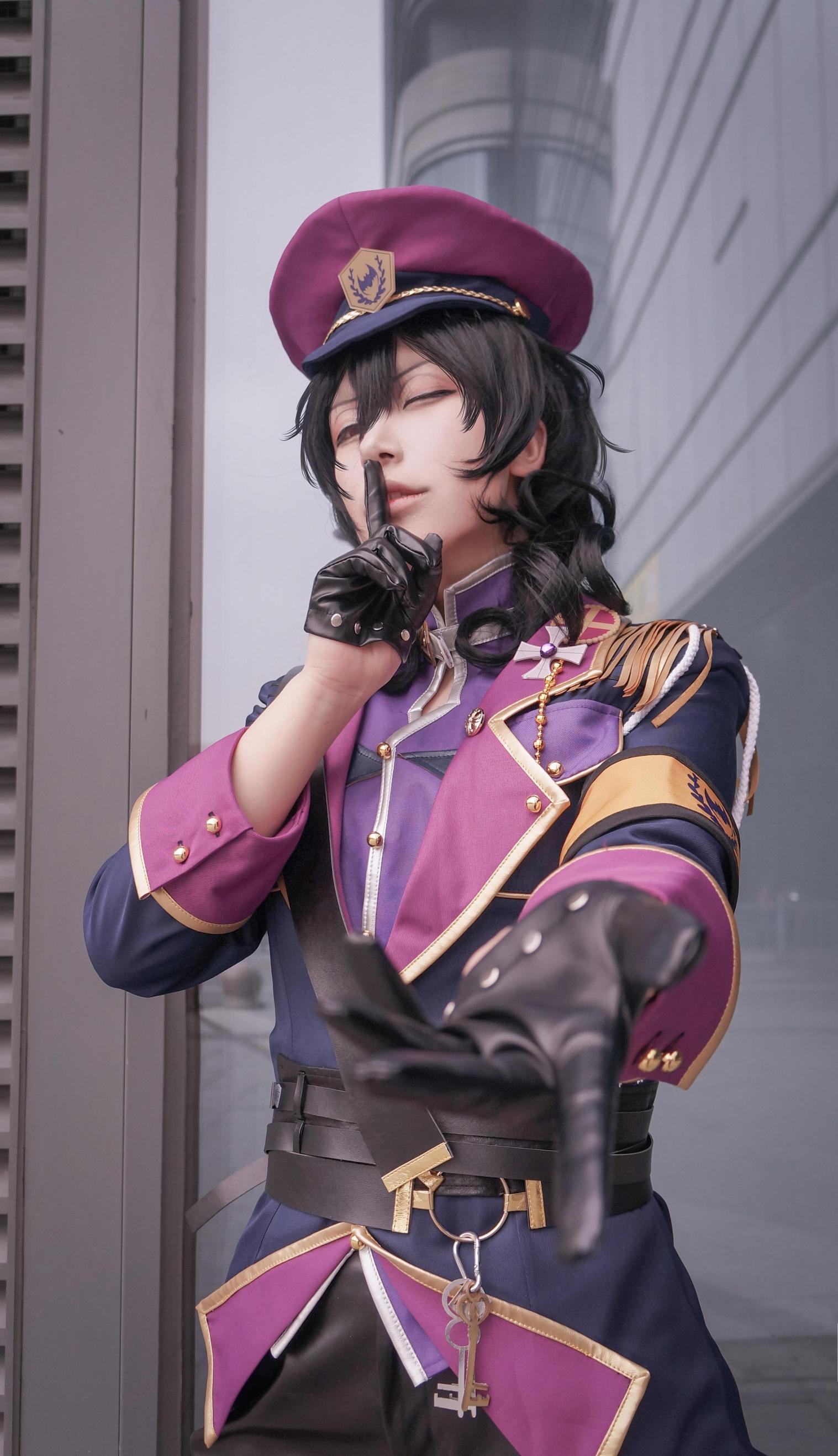 《偶像梦幻祭》朔间零cosplay【CN:岸边千辞】-第6张