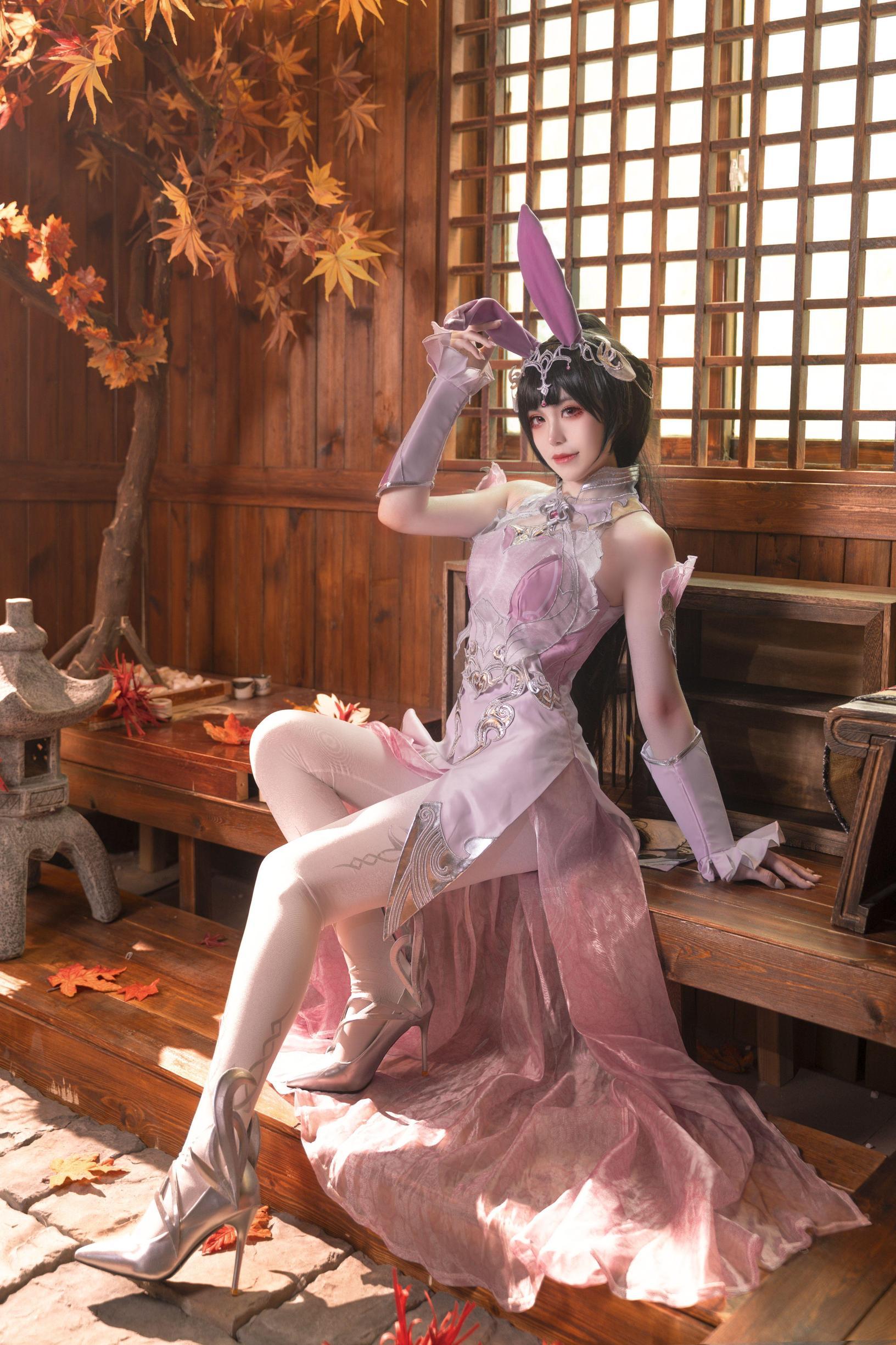 《斗罗大陆》正片cosplay【CN:沁沁ovo】 -cosplay美女大胸图片插图