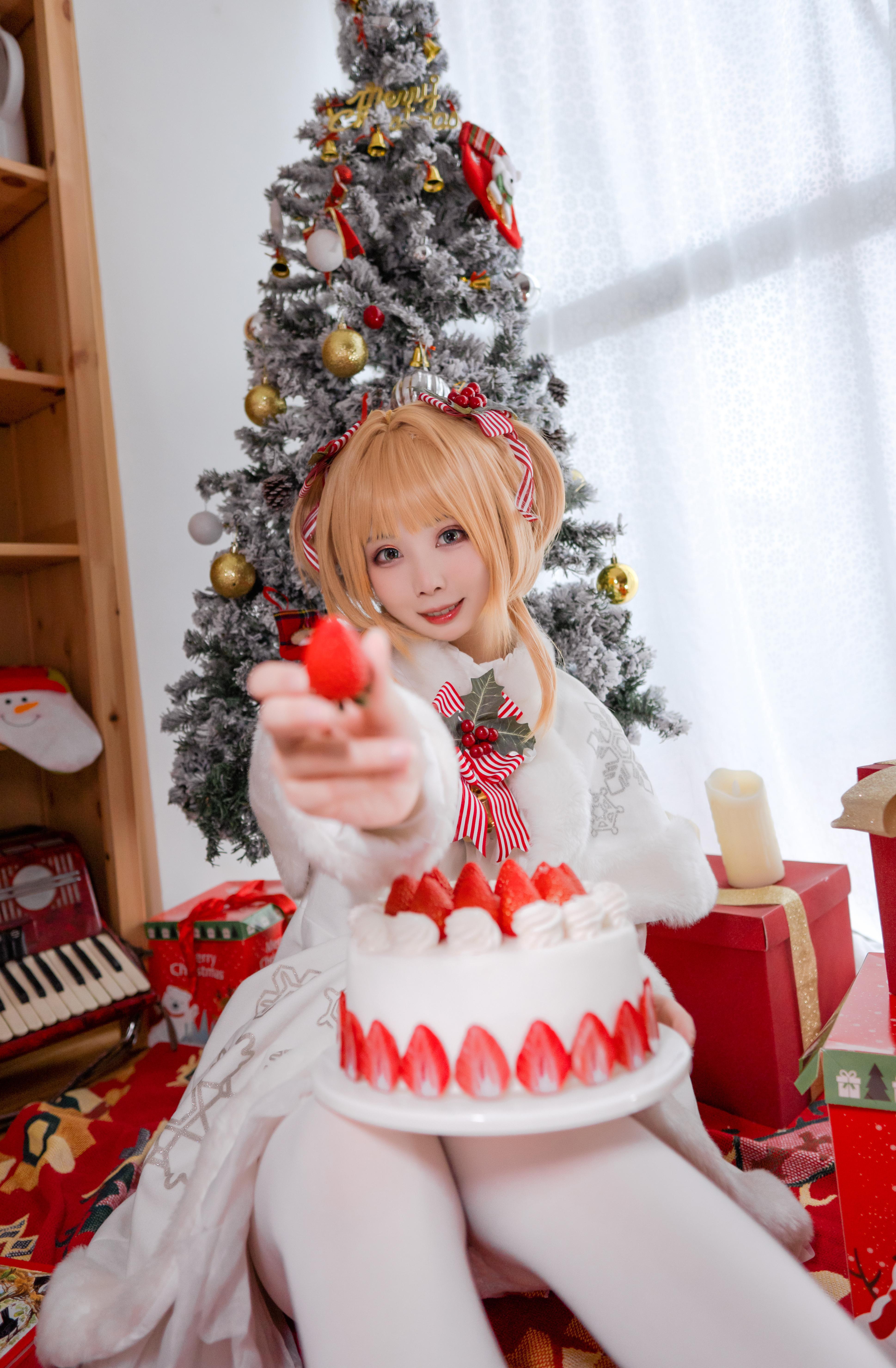 《魔卡少女樱》圣诞cosplay【CN:一X夏天X一】-第2张