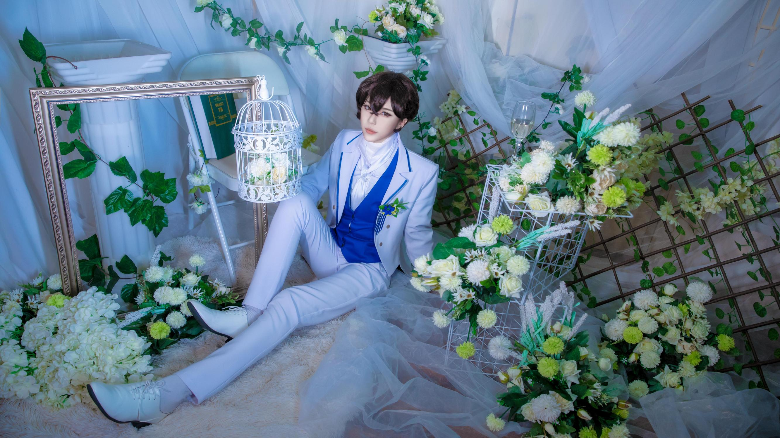 《文豪野犬》文豪野犬太宰治cosplay【CN:衿辞】-第9张