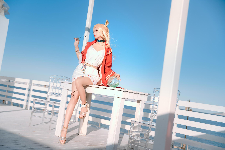 《明日方舟》远山cosplay【CN:nino家的橘子】-第4张