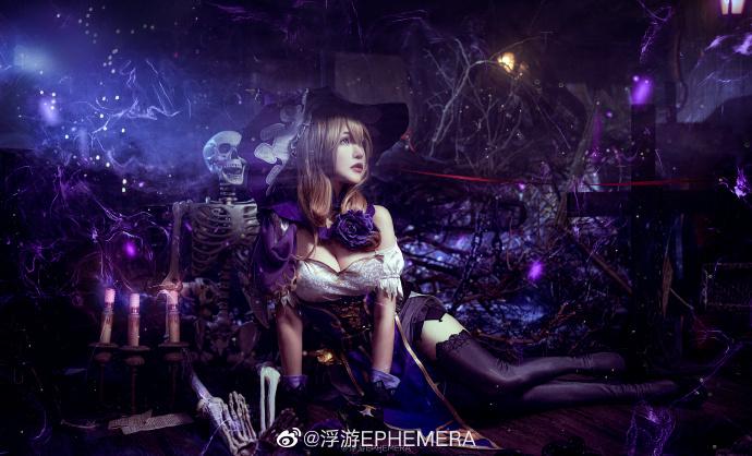 [COS]原神   丽莎   @浮游EPHEMERA (9P) -cosplay素材图片插图