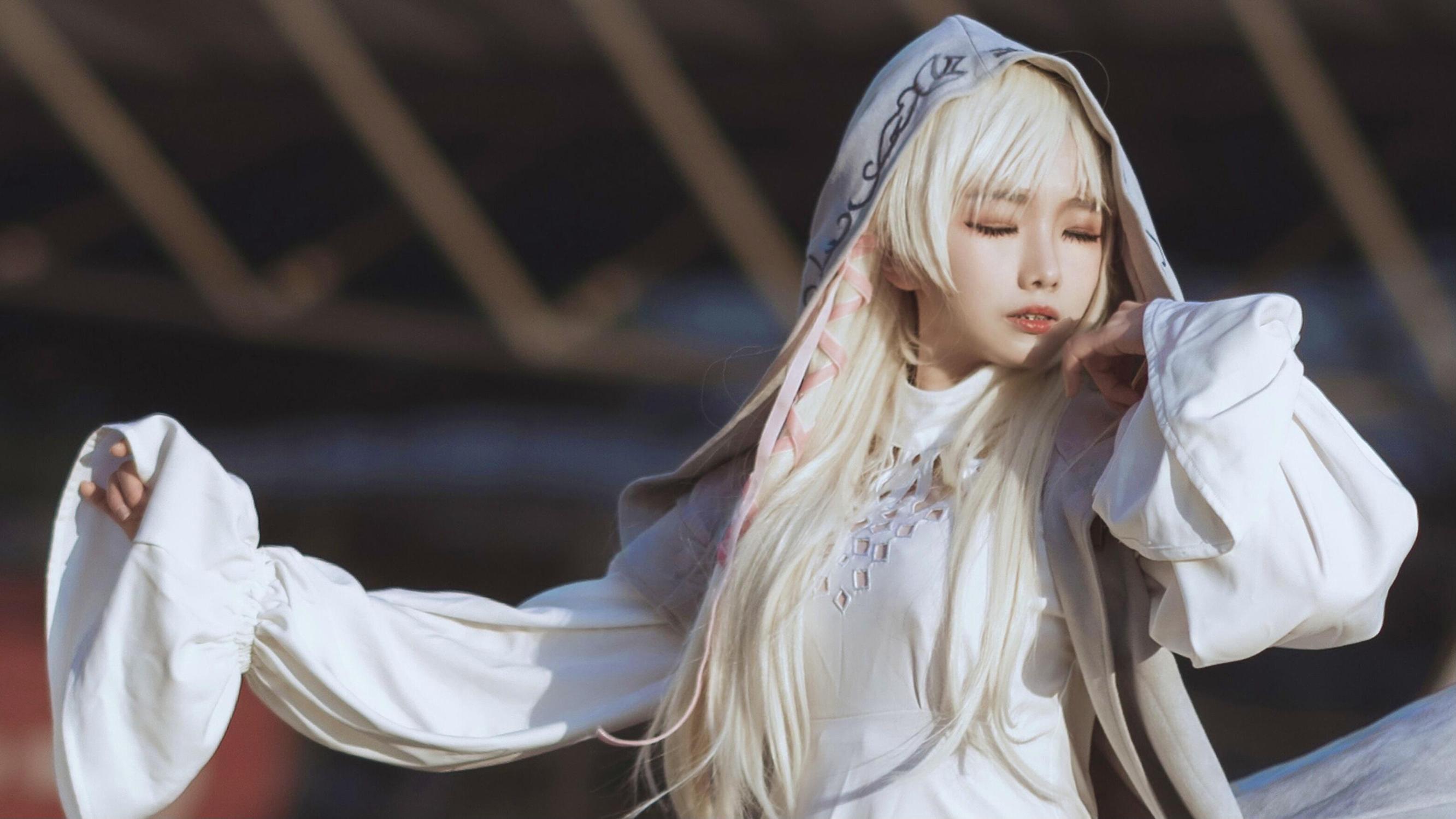 巫女cosplay【CN:PICO_噗哟小粉红】-第8张